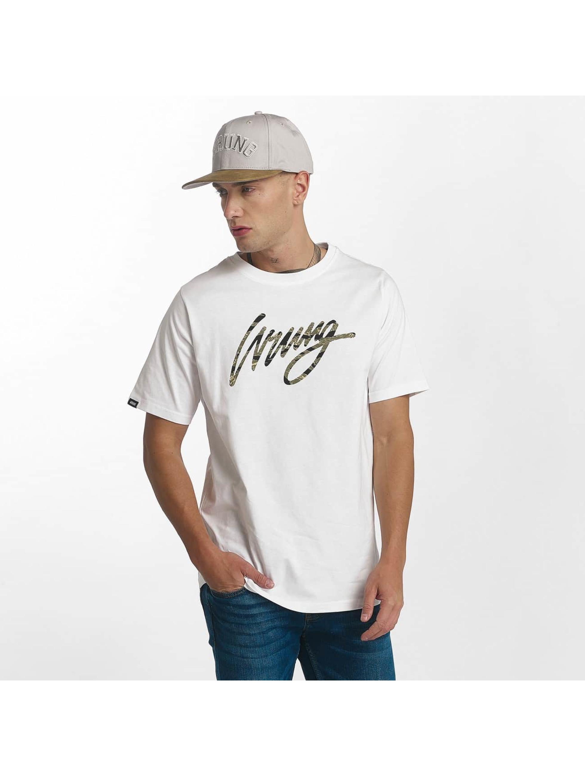 Wrung Division t-shirt Sign Camo wit