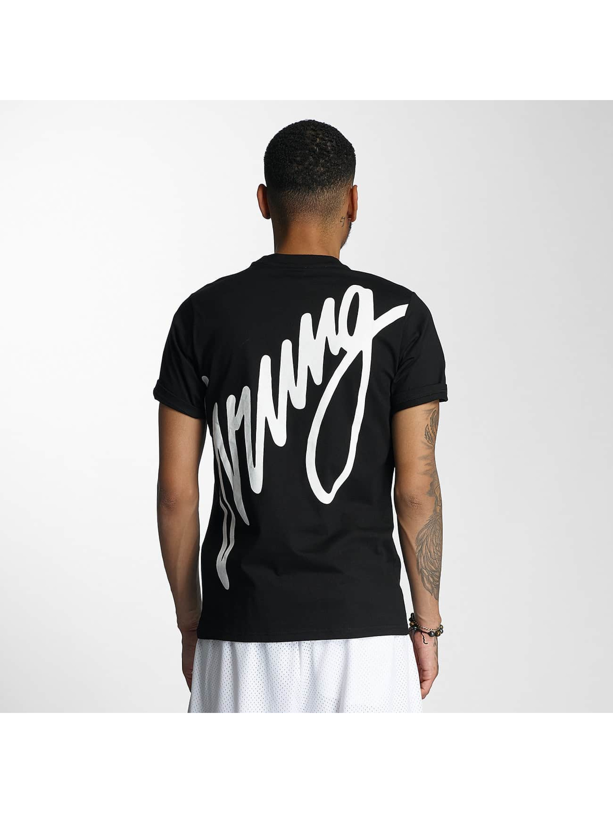 Wrung Division T-Shirty Black Sign czarny