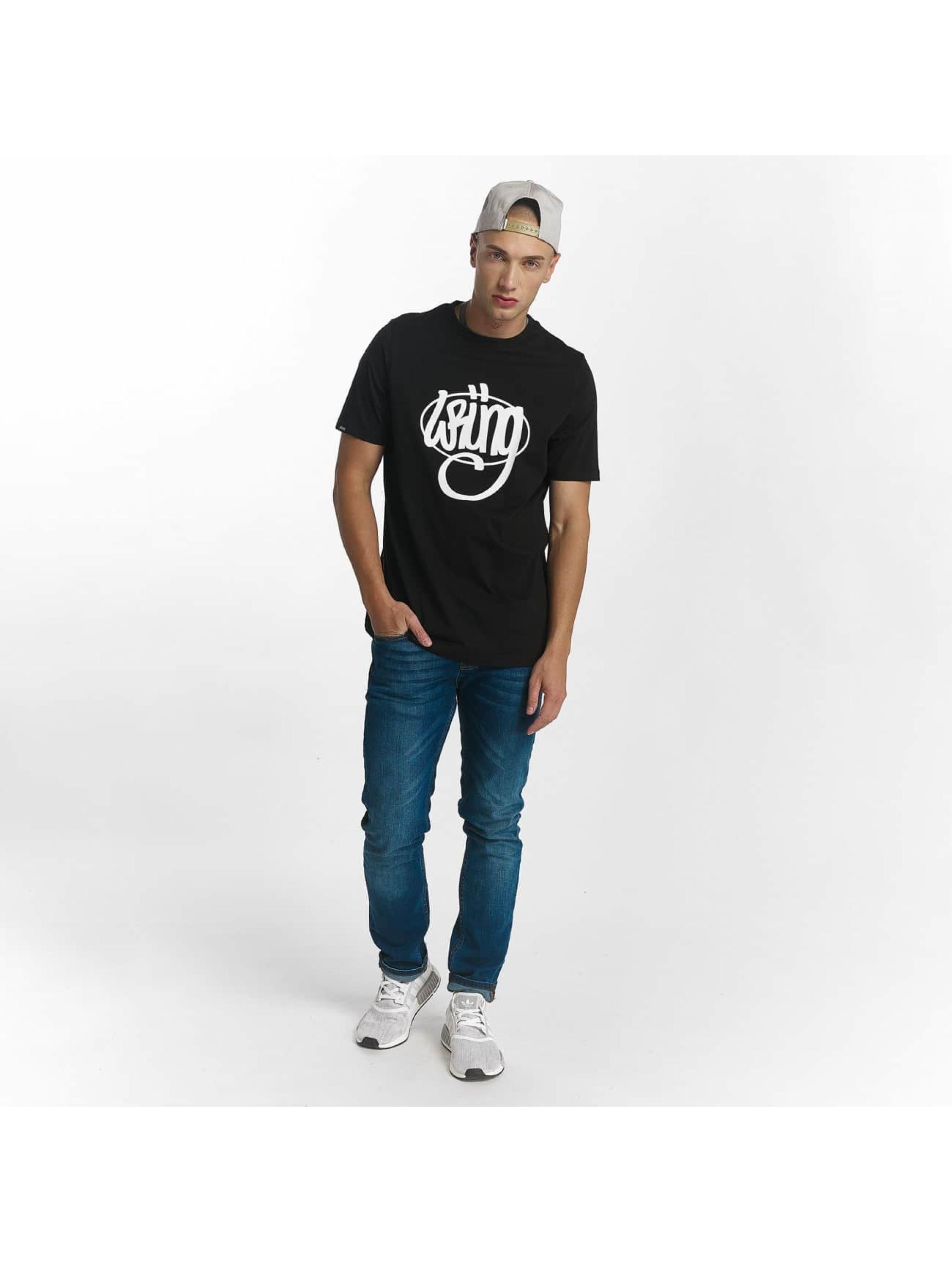 Wrung Division T-Shirty Original czarny