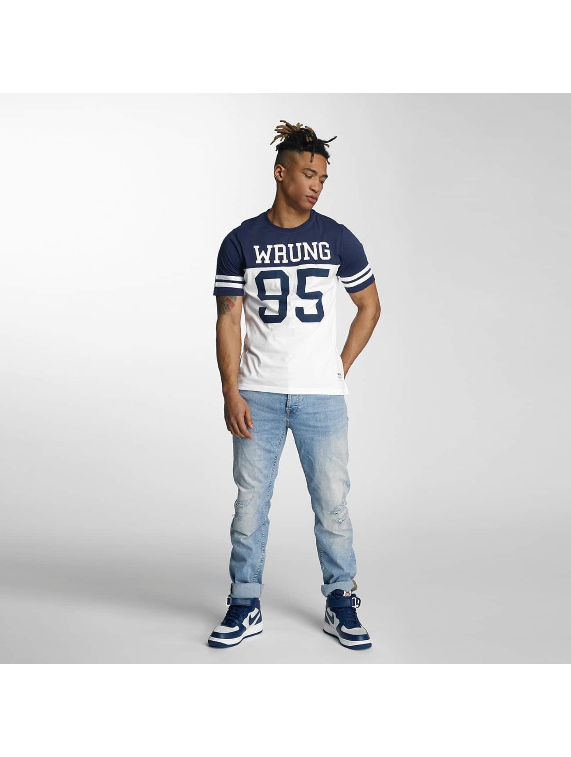 Wrung Division T-Shirty Beast niebieski