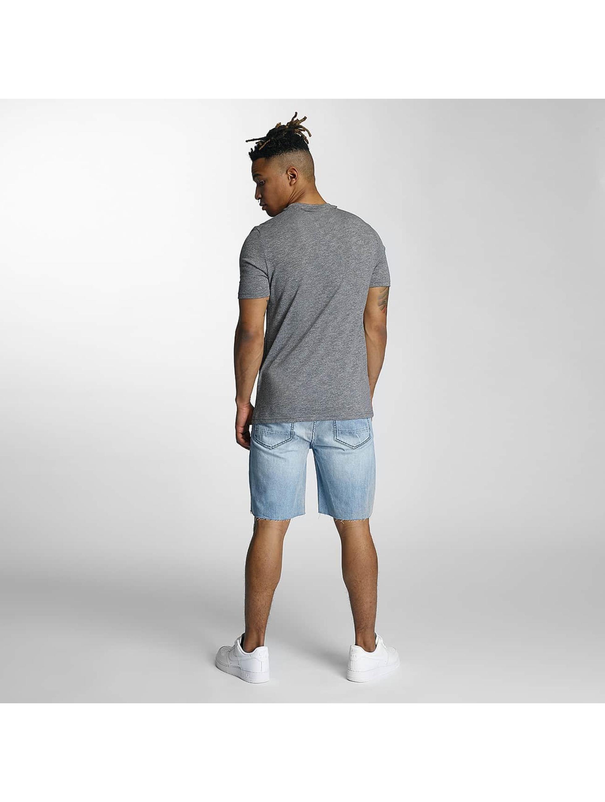 Wrung Division T-skjorter Signature grå