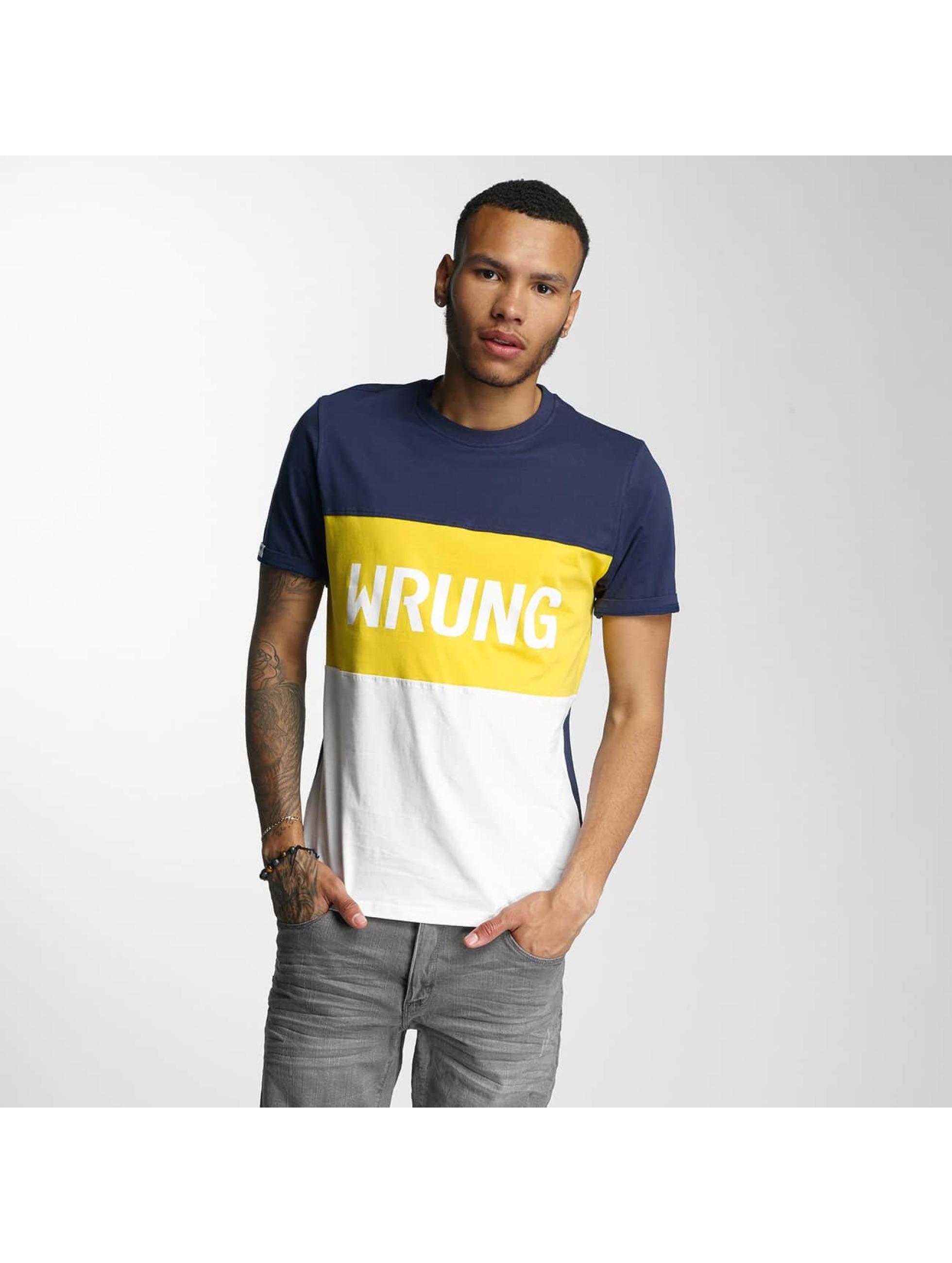 Wrung Division T-skjorter Russell hvit