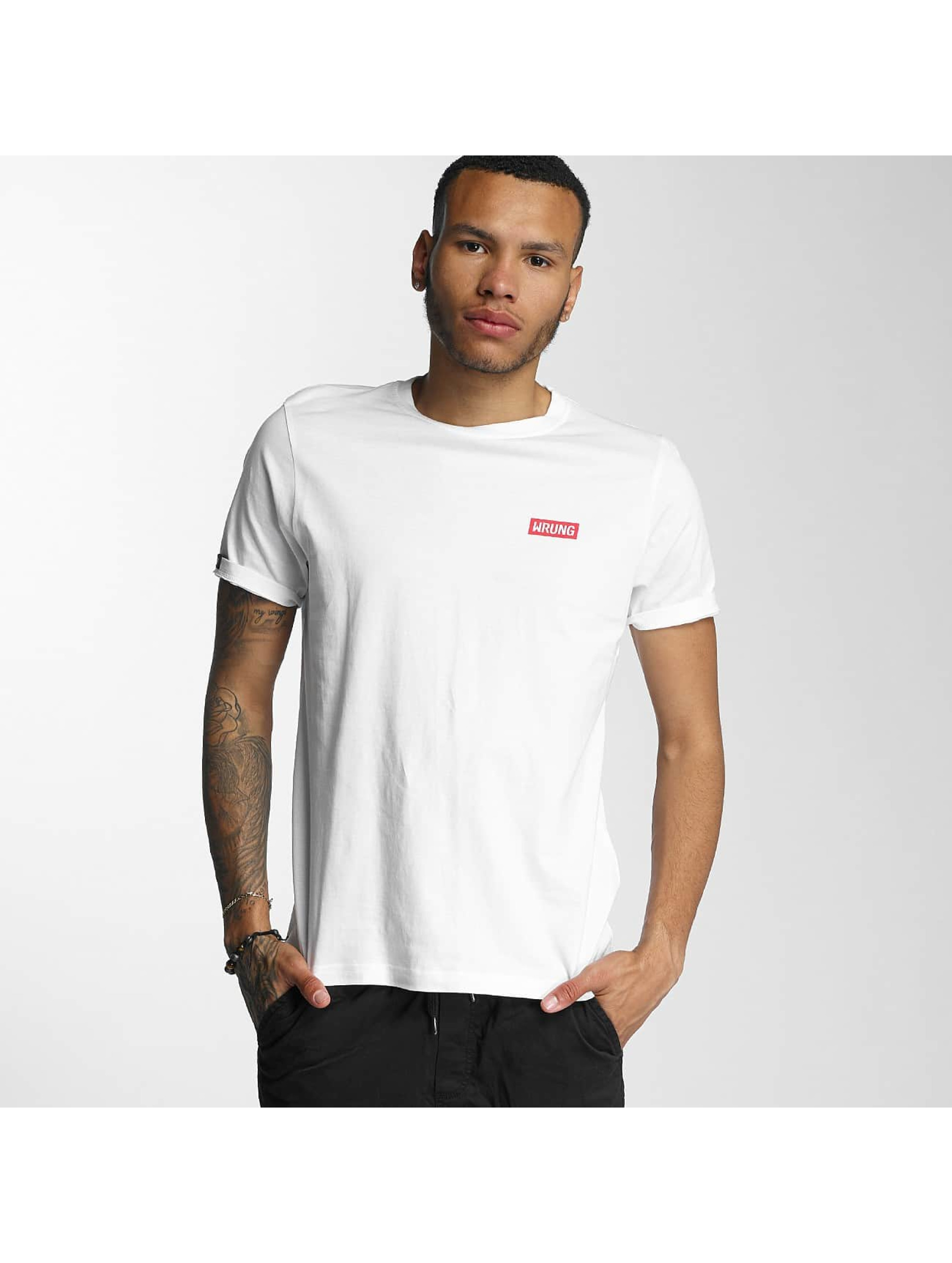 Wrung Division T-skjorter Censored hvit