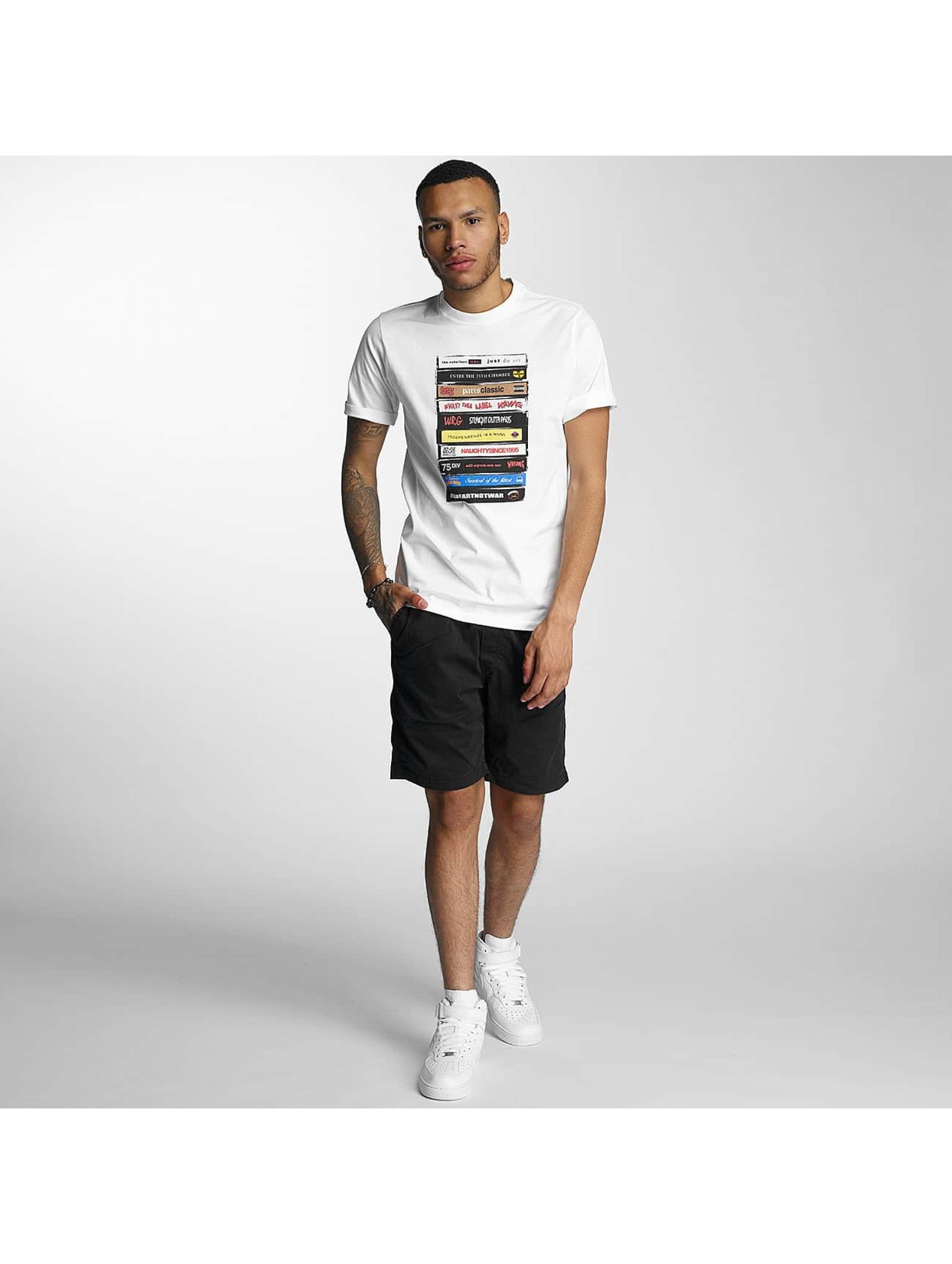 Wrung Division T-skjorter Tapes hvit
