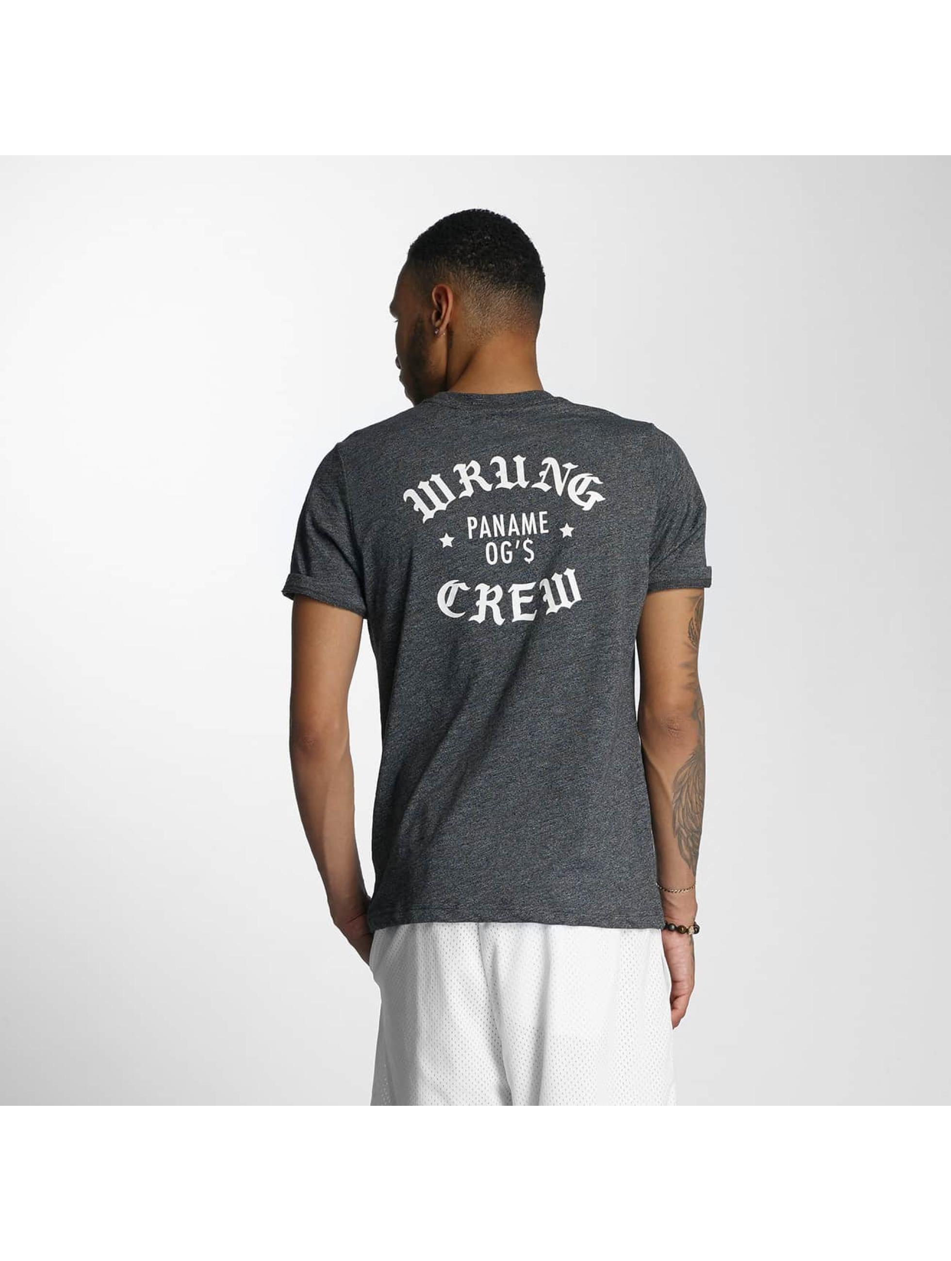 Wrung Division T-skjorter Real OG svart