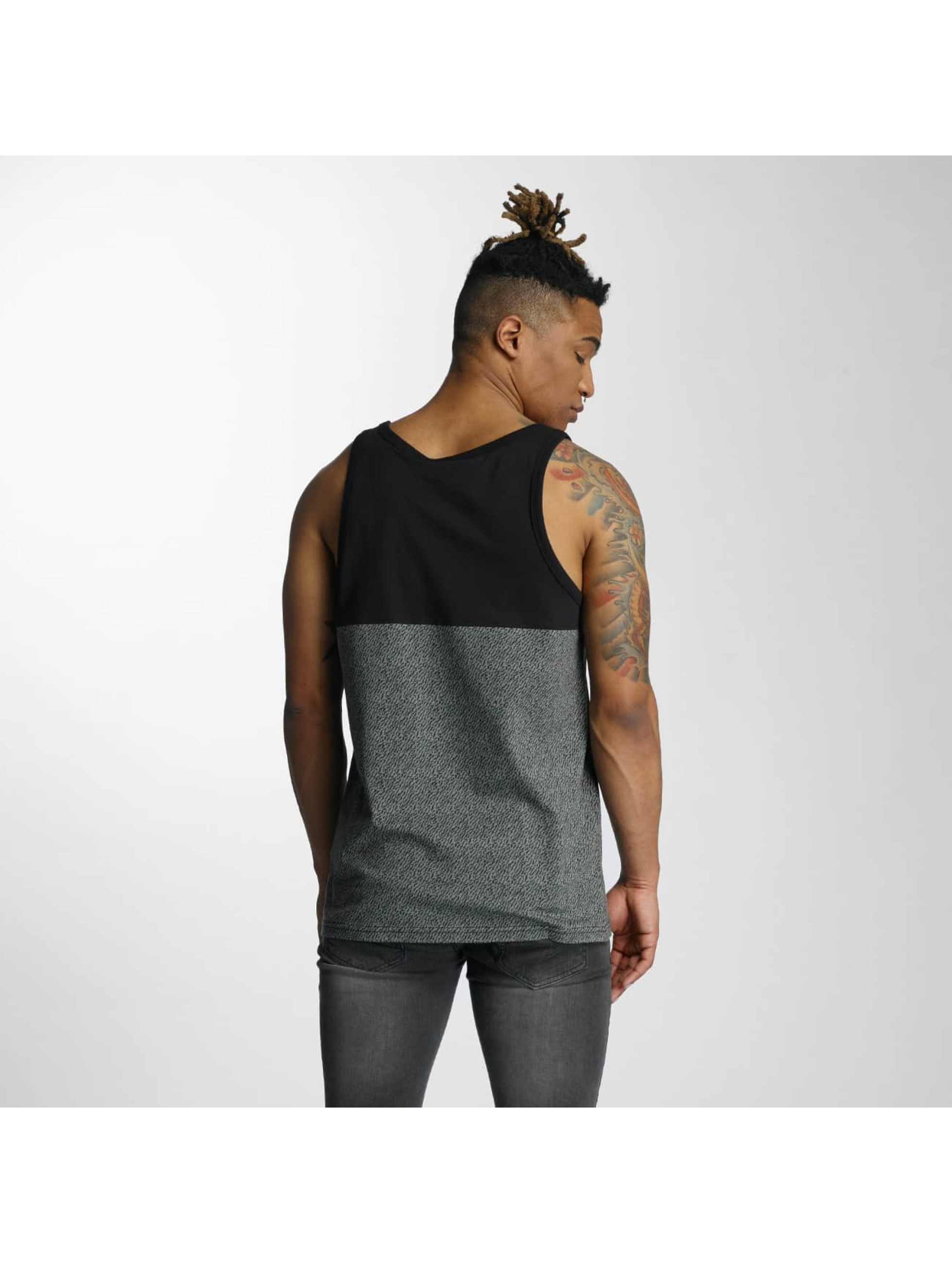 Wrung Division Tank Tops Yezz szary