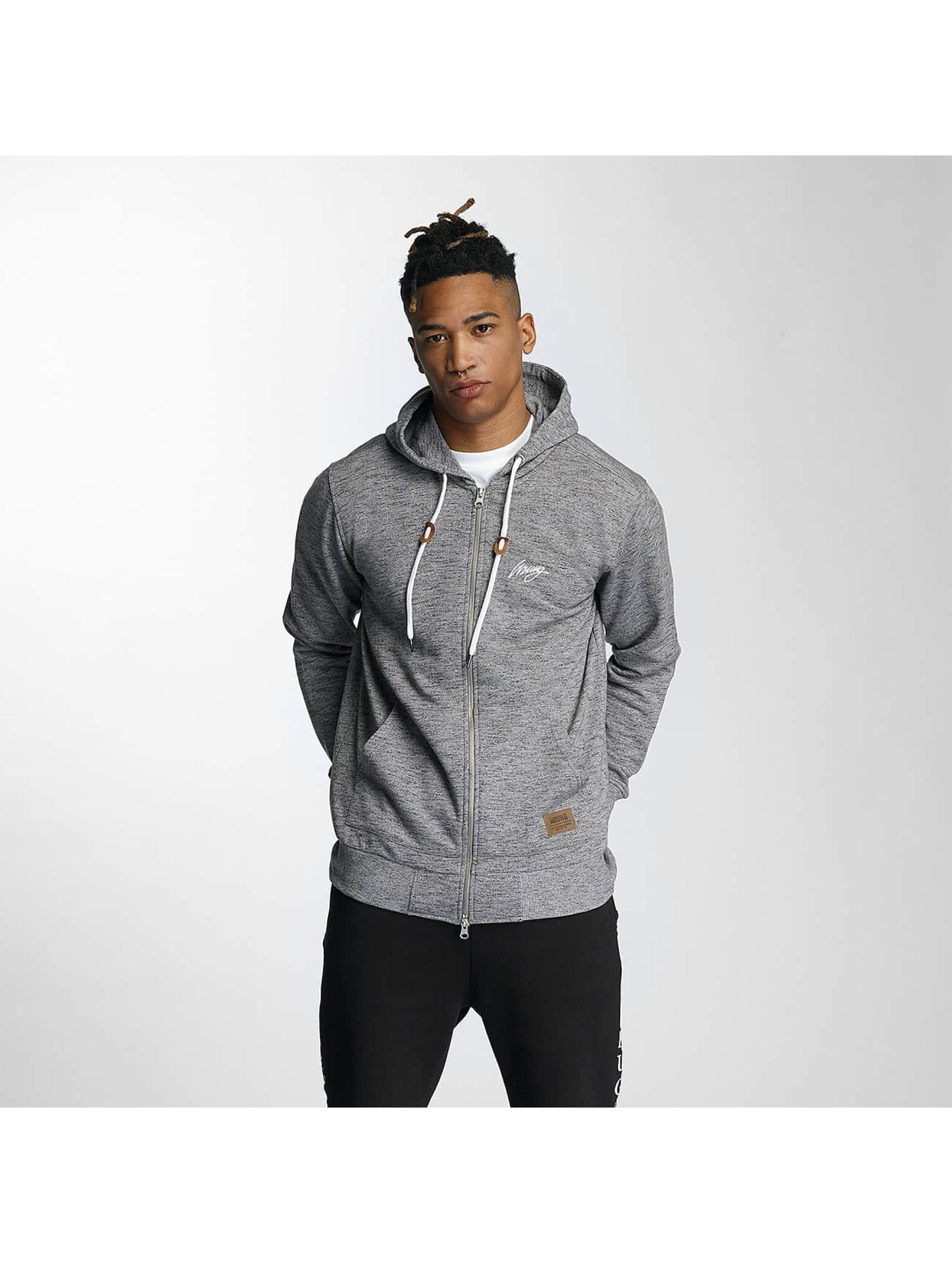Wrung Division Zip Hoodie Original grey