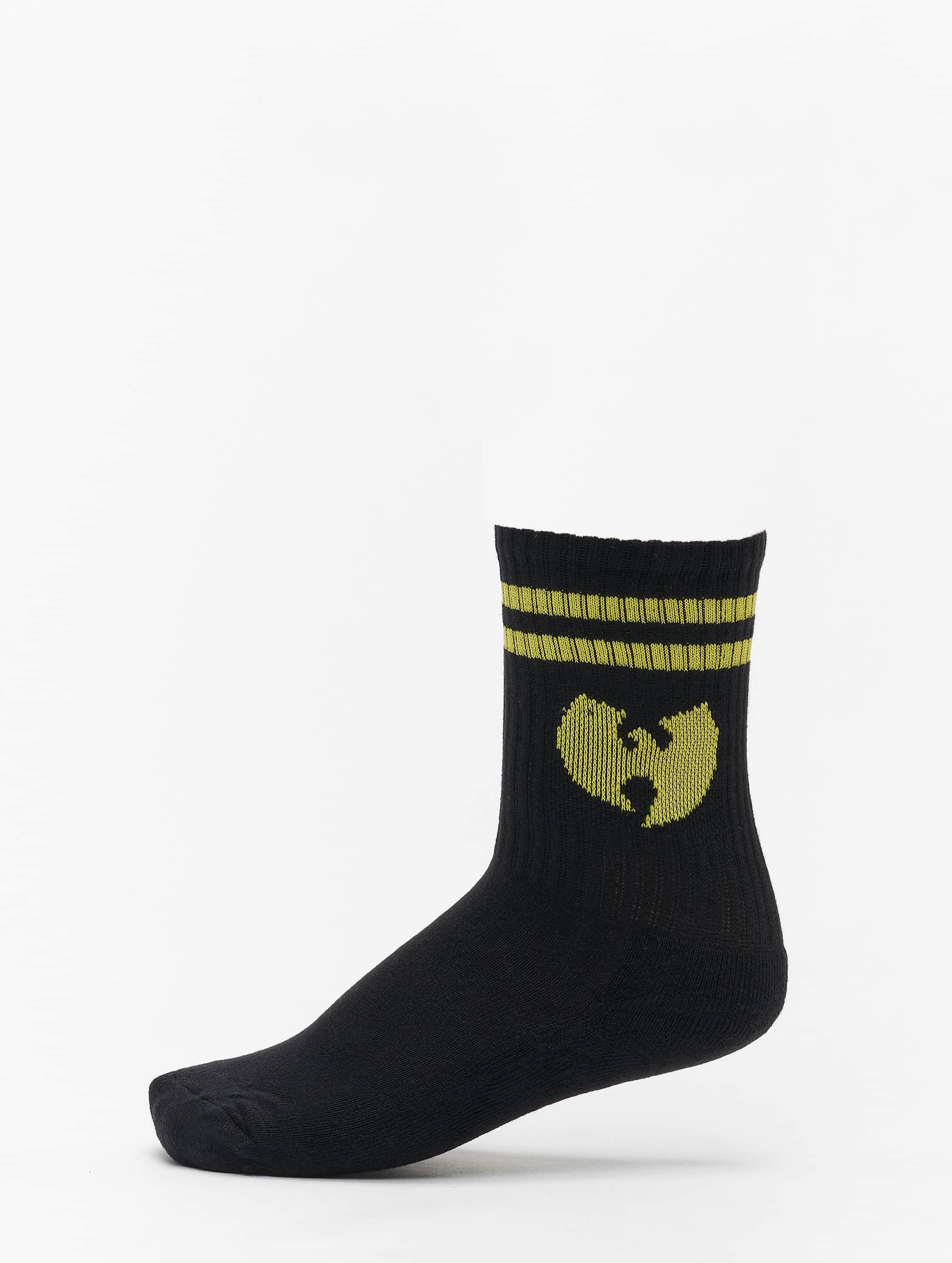 Wu-Tang Calzino Logo nero