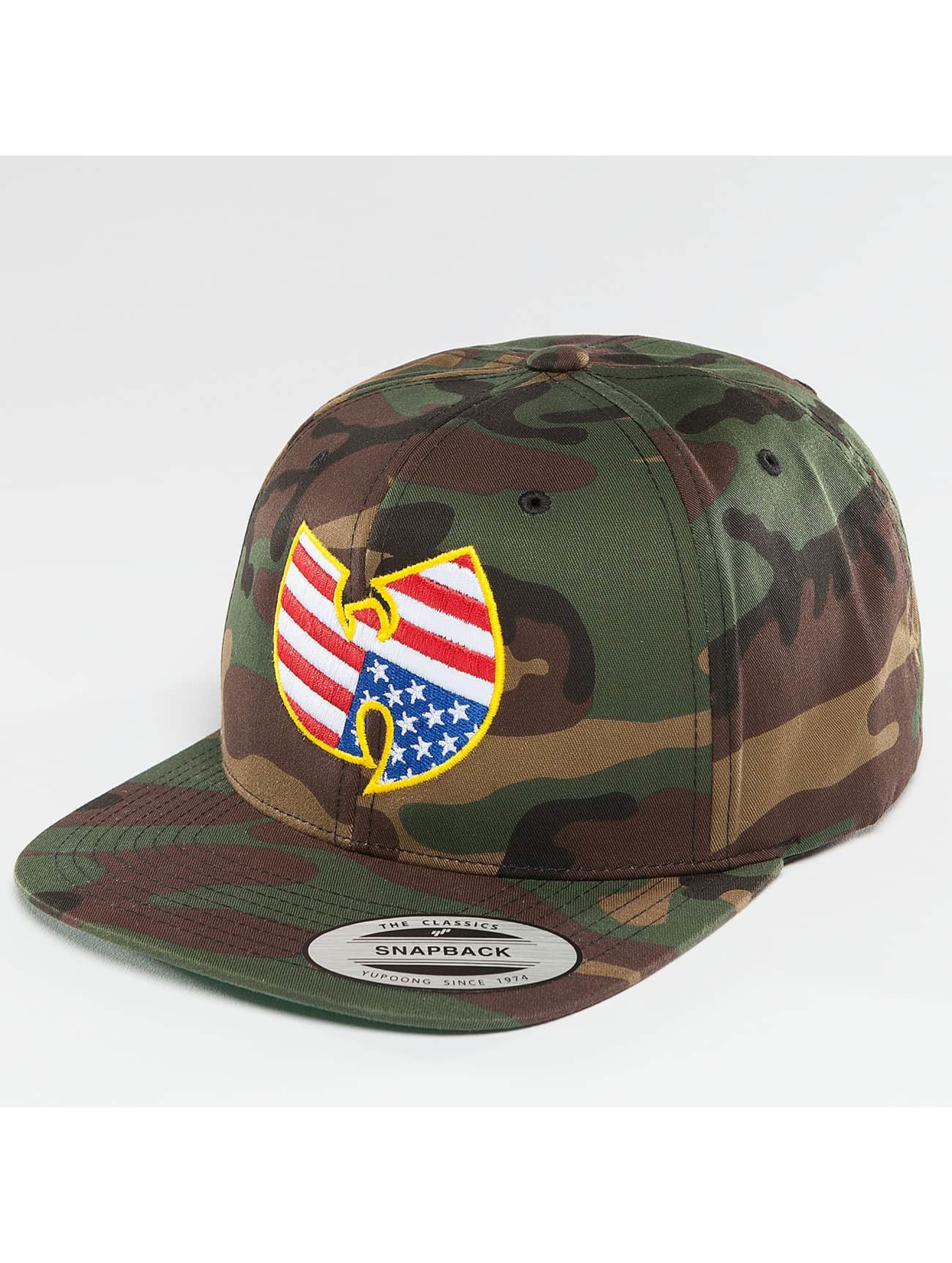 Wu-Tang Snapback Cap American mimetico