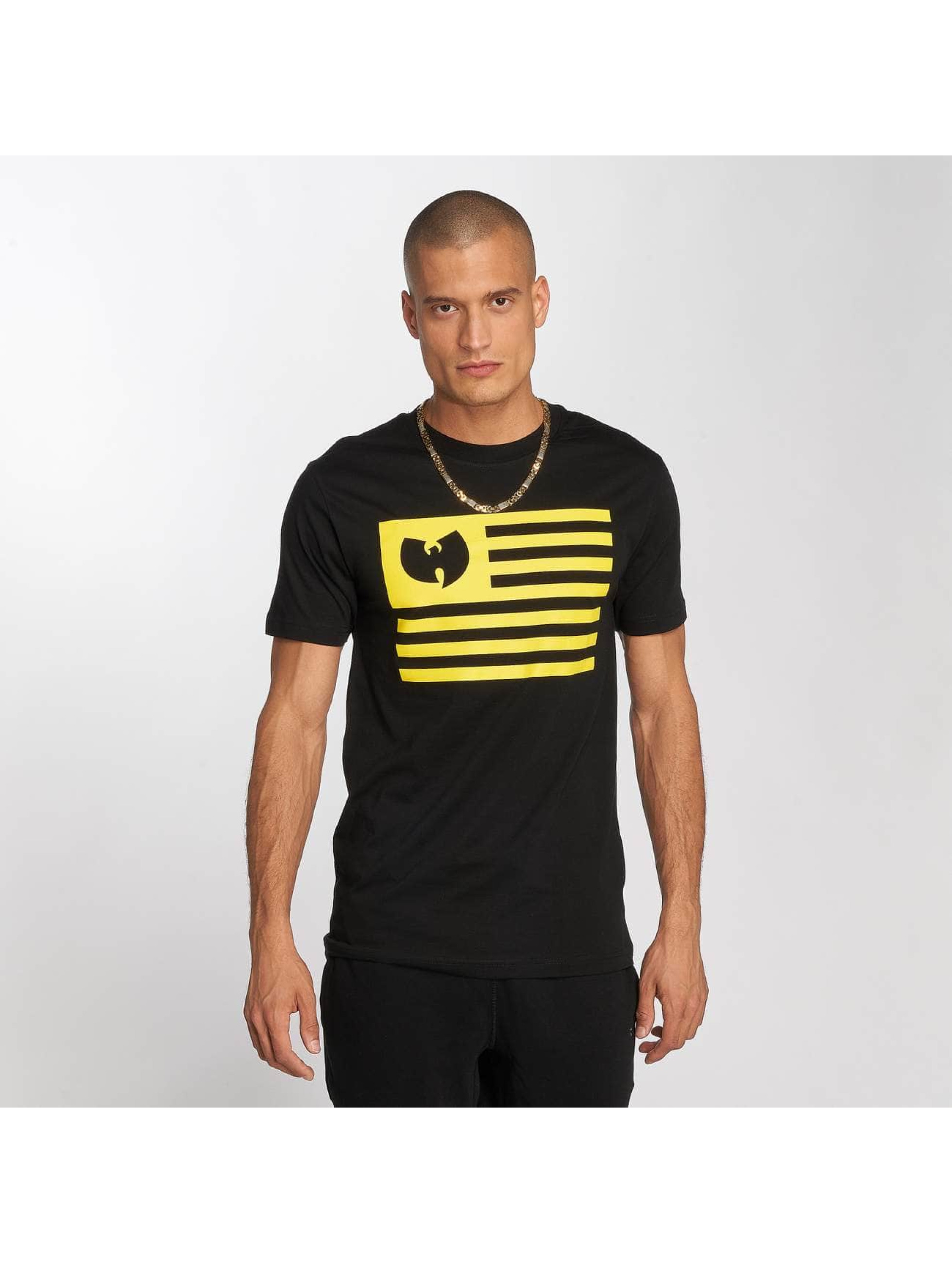 Wu-Tang T-Shirt Flag black