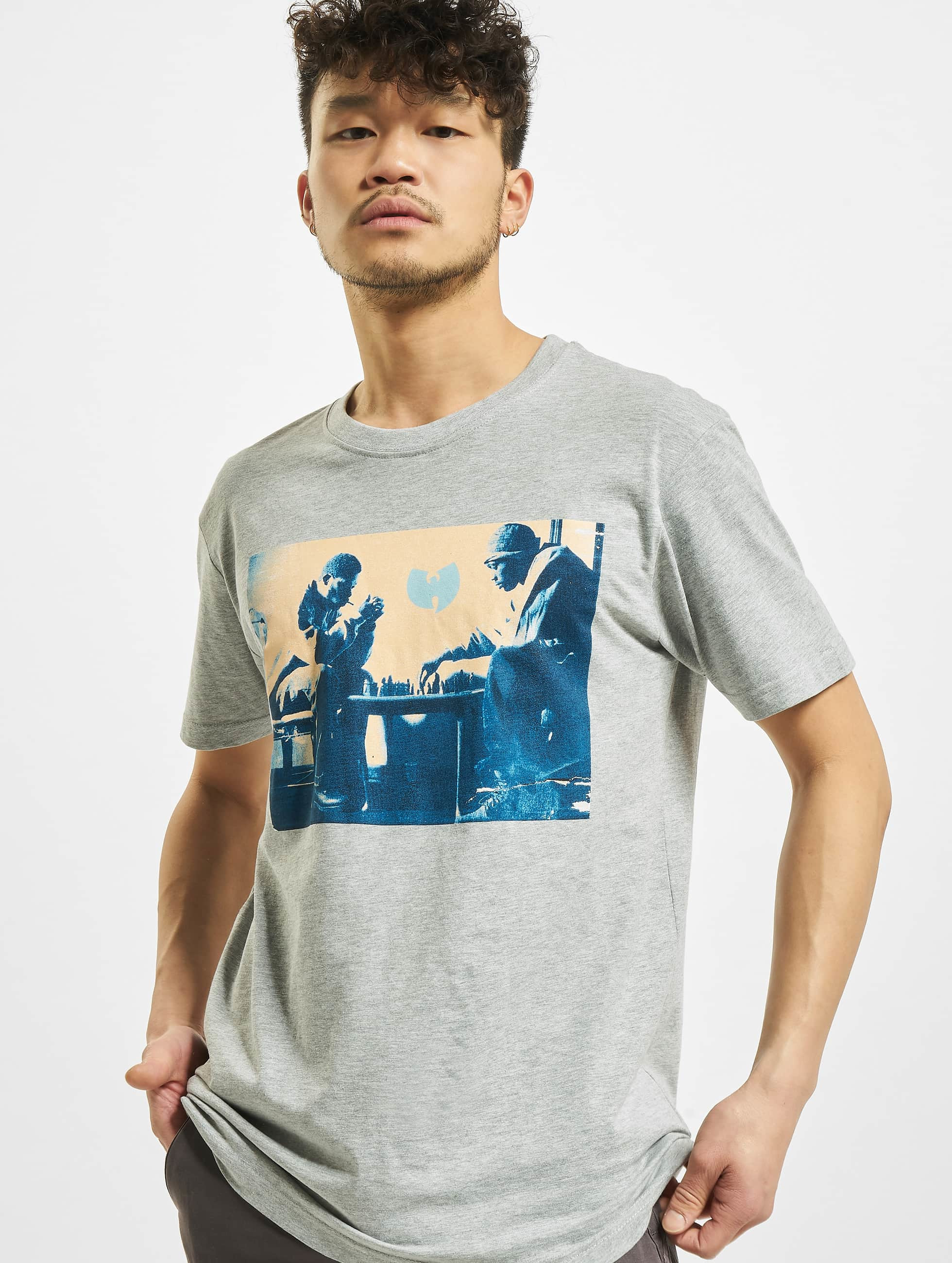 Wu-Tang T-Shirt Chess grau