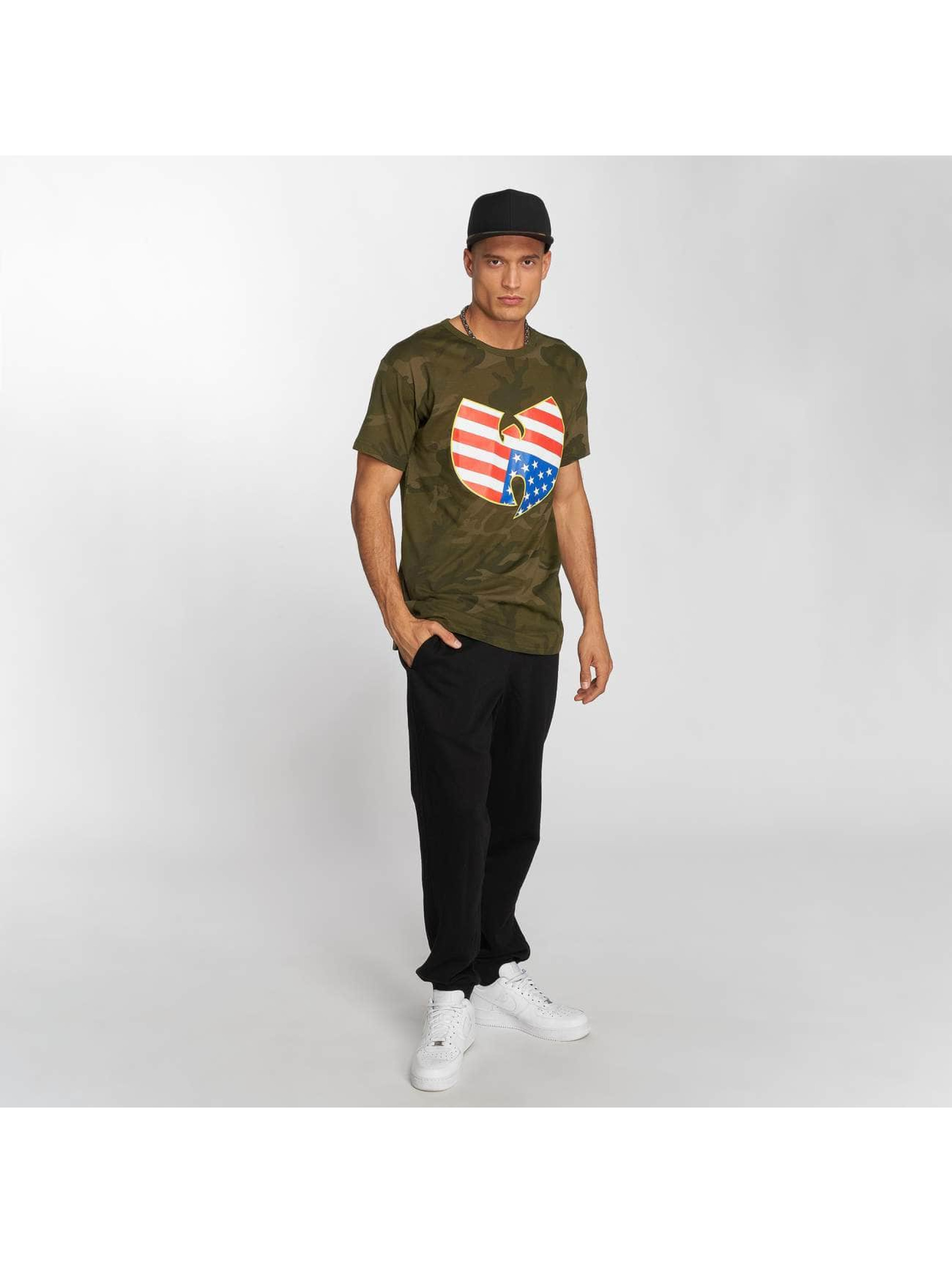 Wu-Tang T-shirt American Camo mimetico
