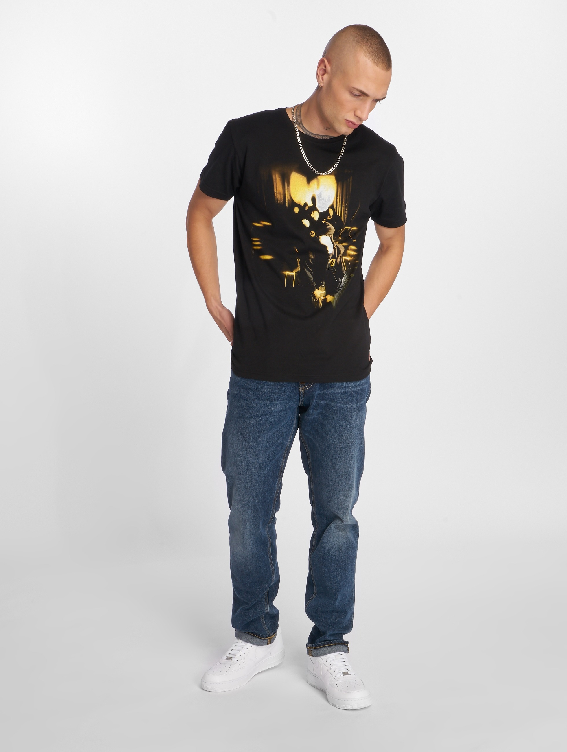Wu-Tang T-Shirt Masks noir