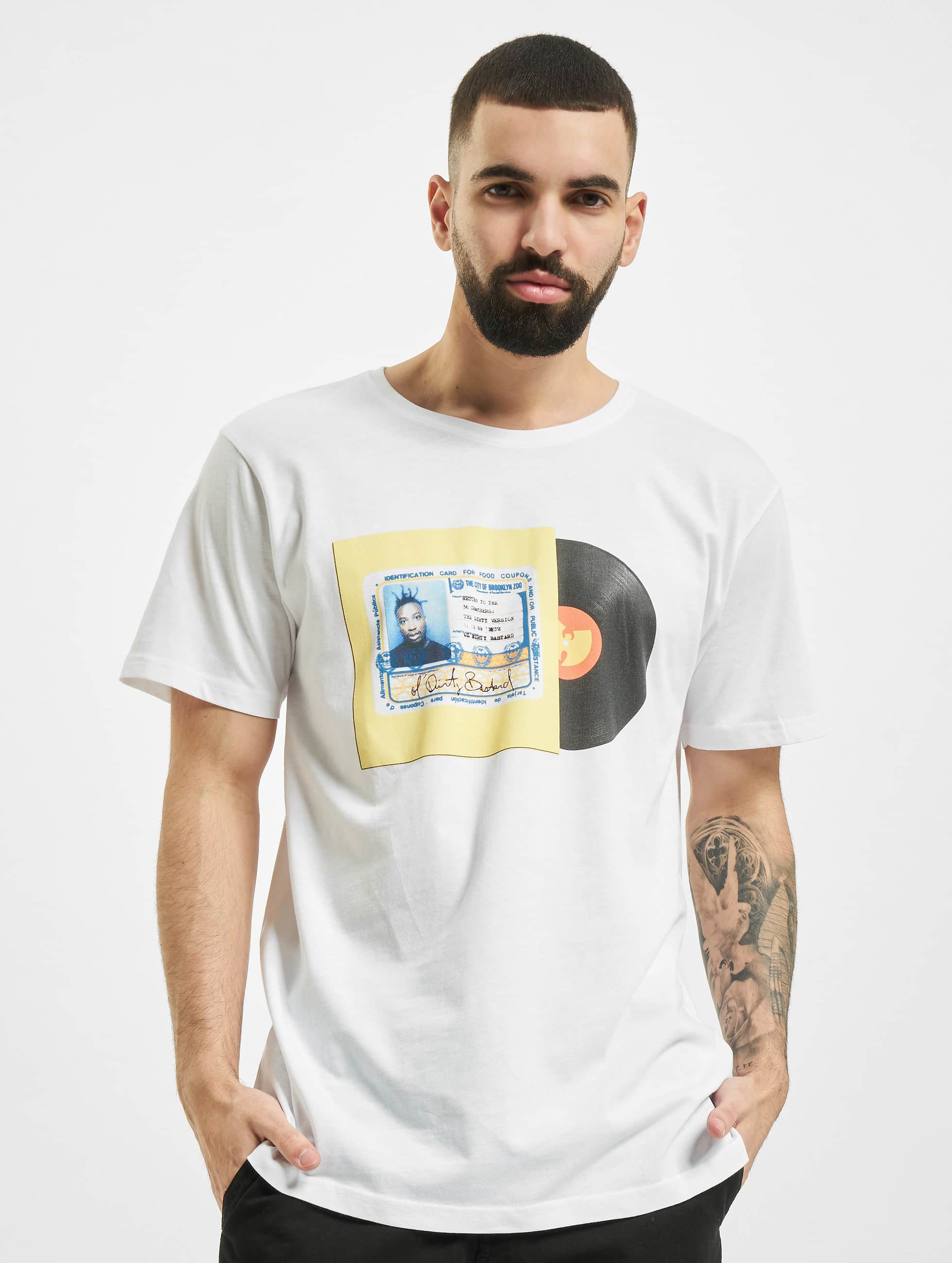 Wu-Tang T-Shirt ID Card white