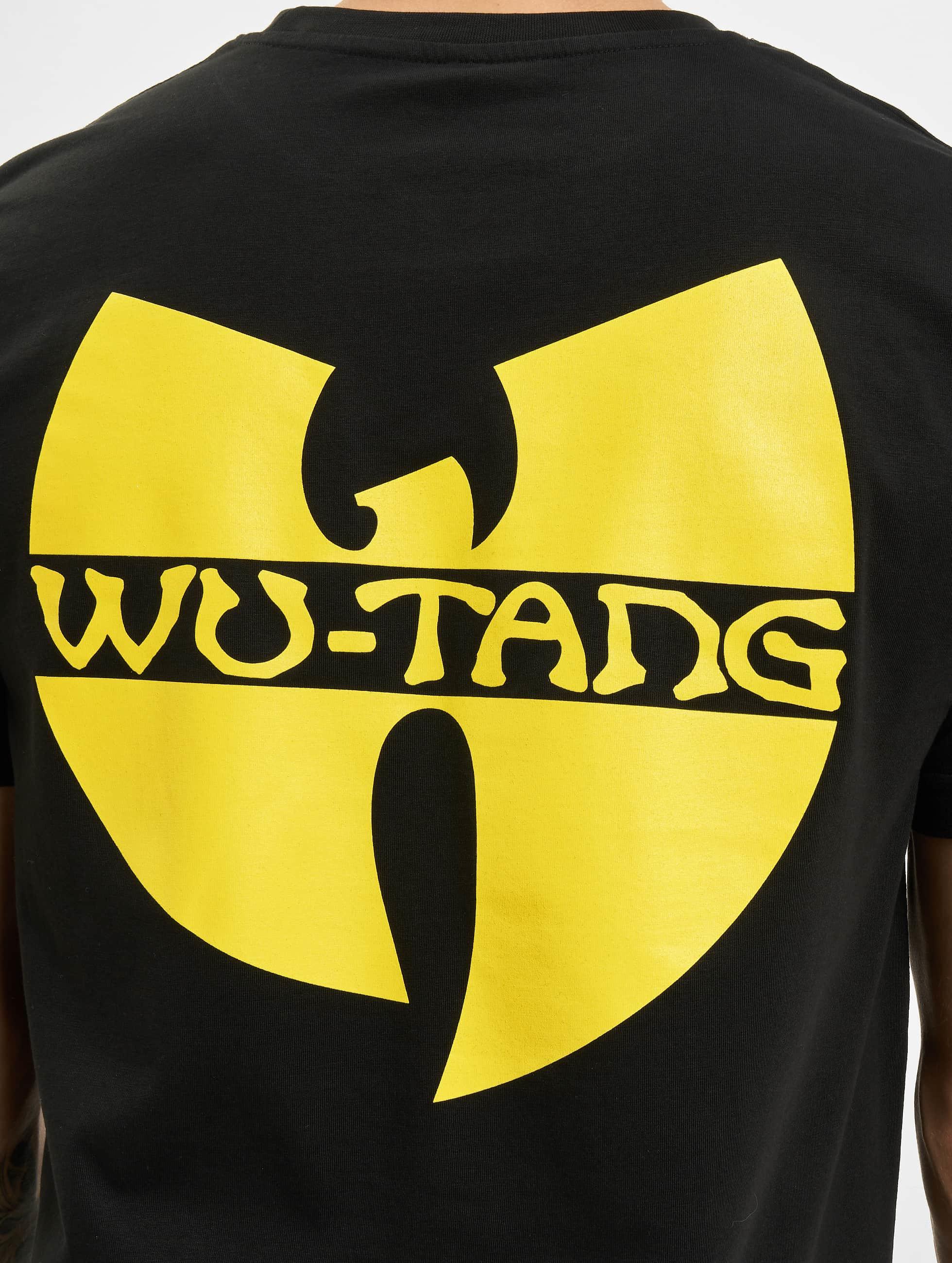 Wu-Tang t-shirt Front-Back zwart