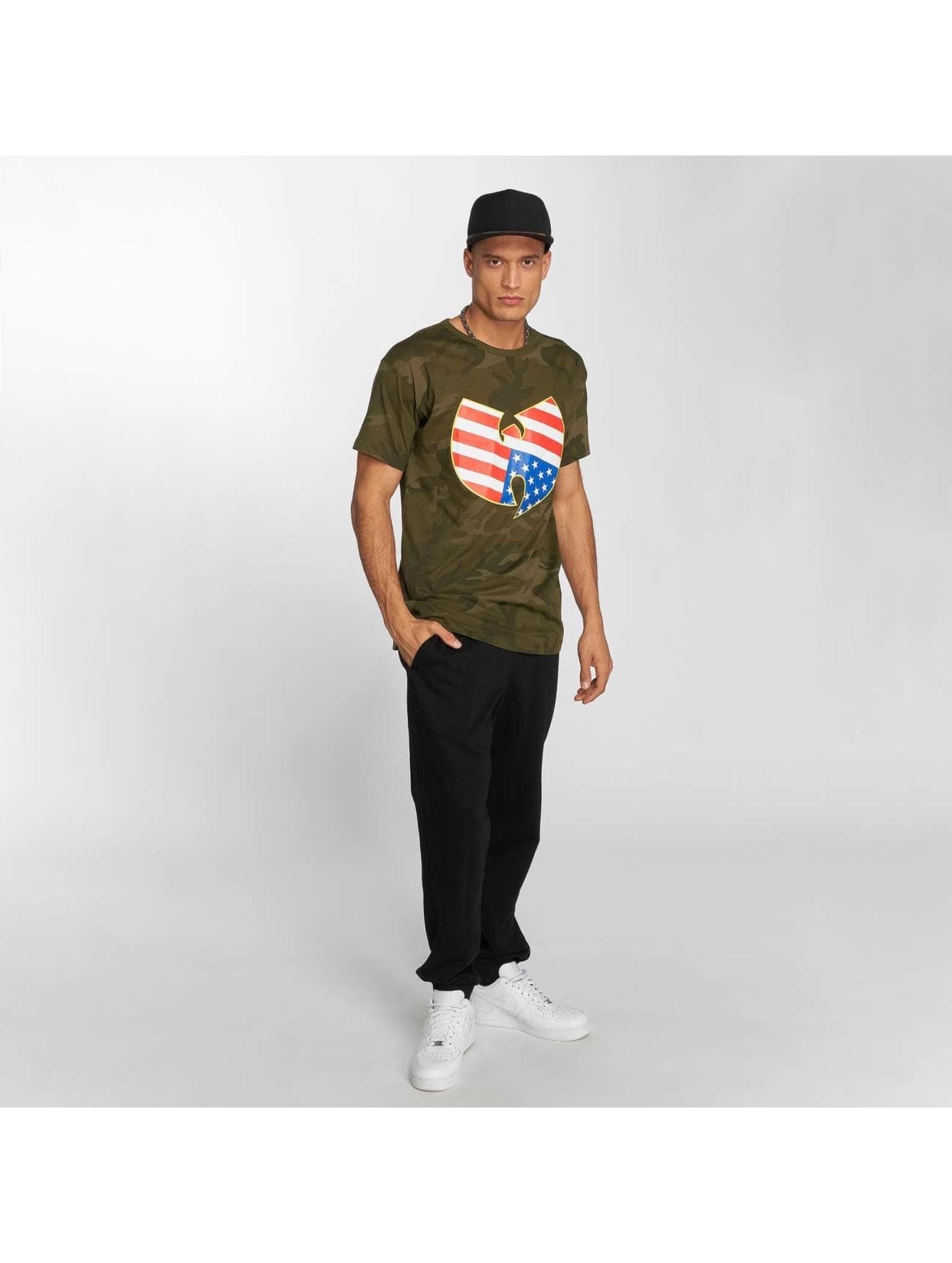 Wu-Tang T-shirts American Camo camouflage