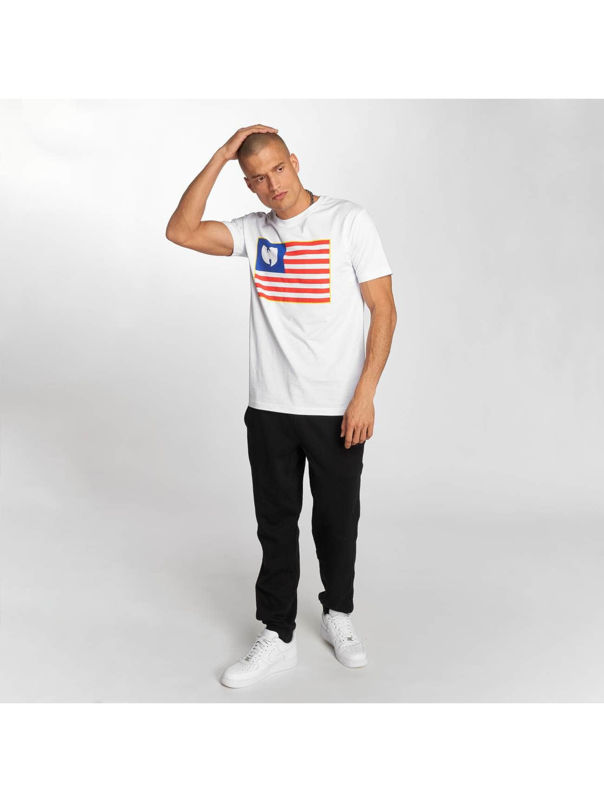 Wu-Tang T-shirts Flag hvid
