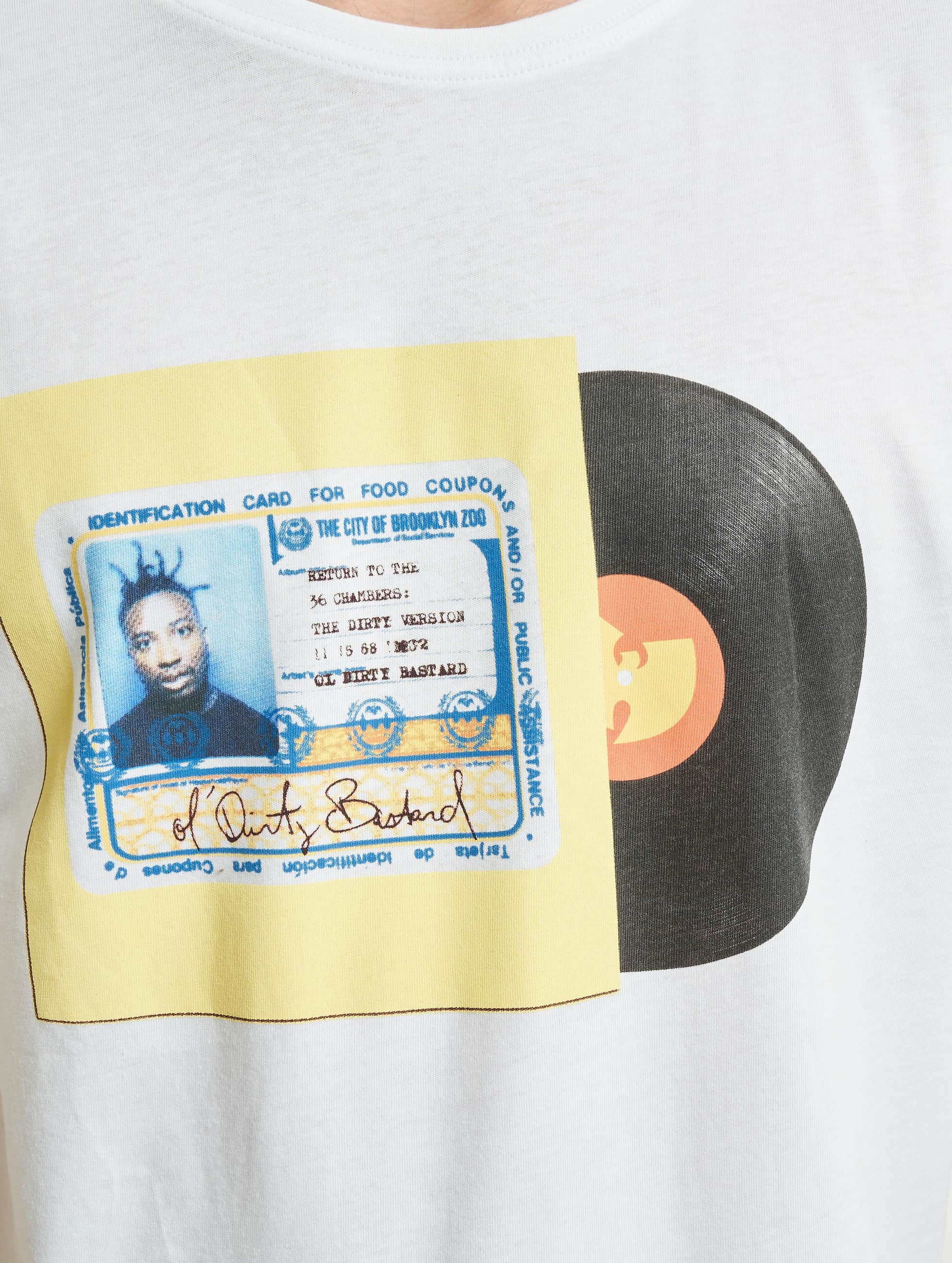 Wu-Tang T-Shirty ID Card bialy