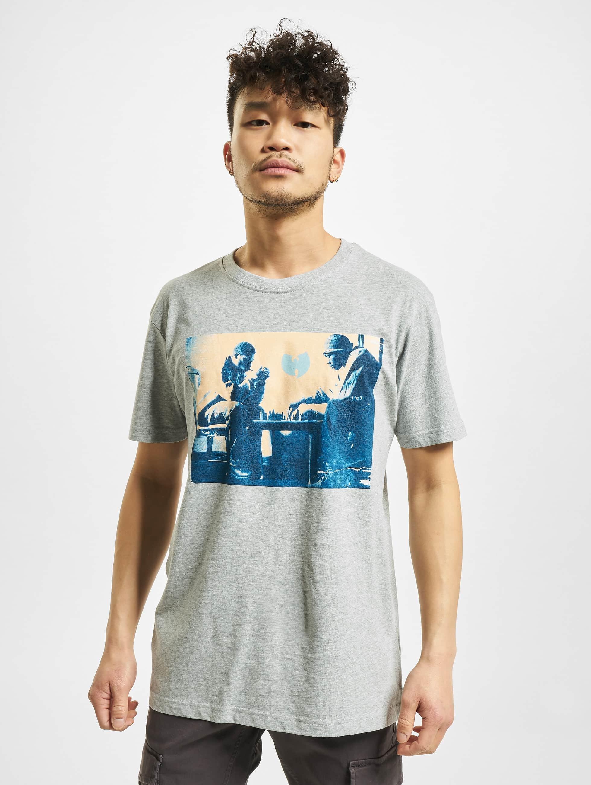 Wu-Tang T-Shirty Chess szary