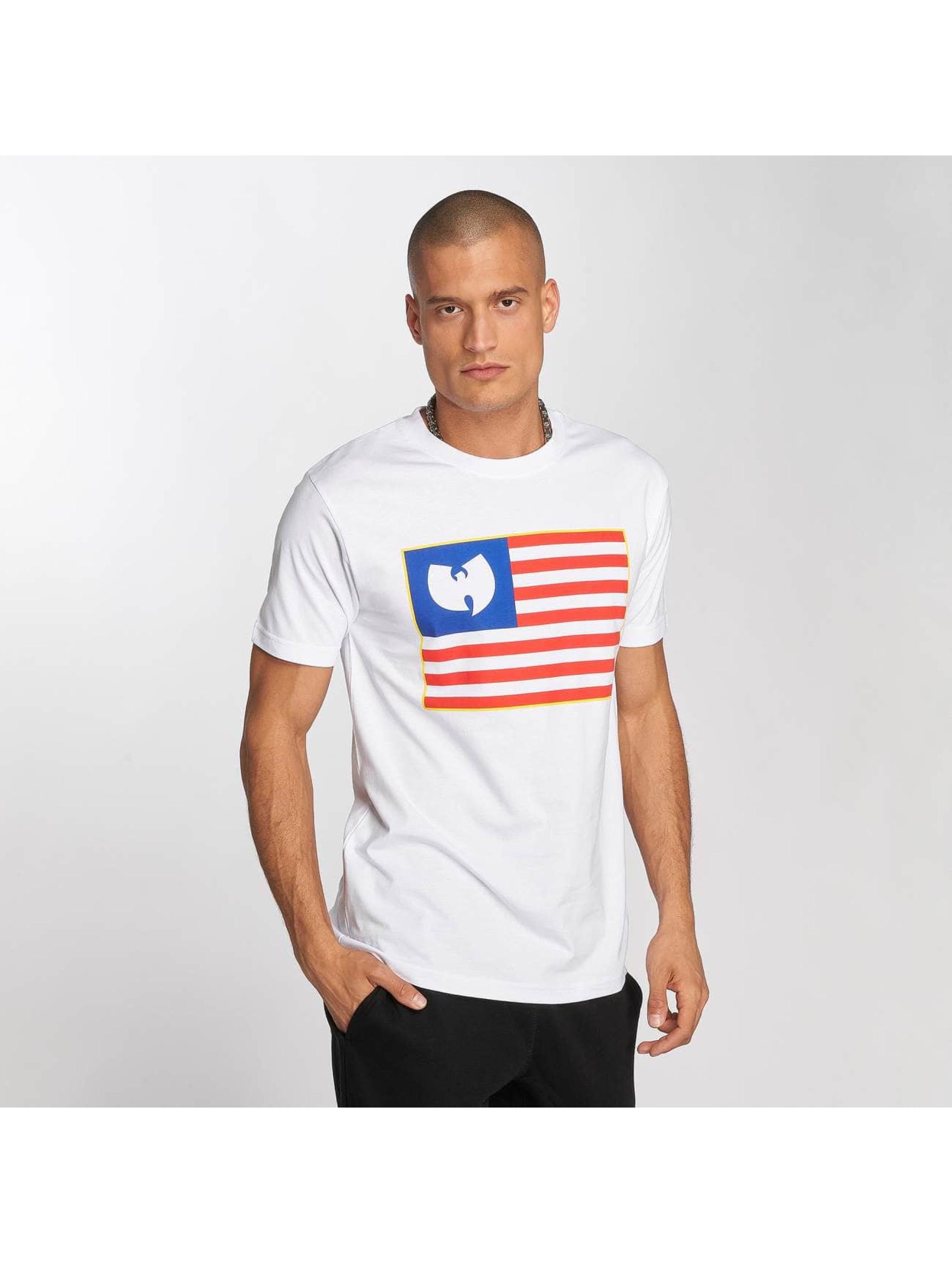 Wu-Tang Tričká Flag biela