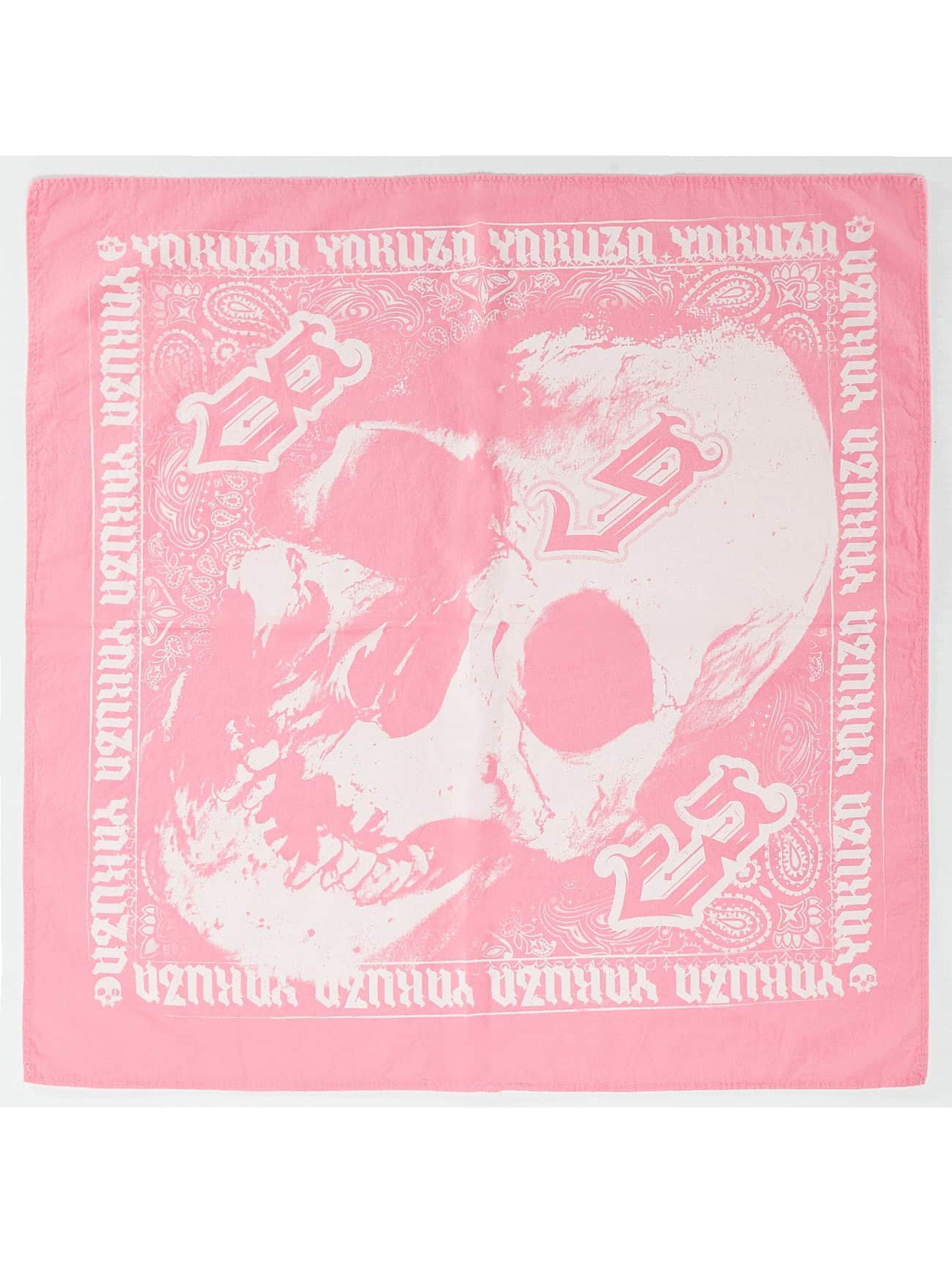 Yakuza Šatky Bandana/Duragy Skull pink