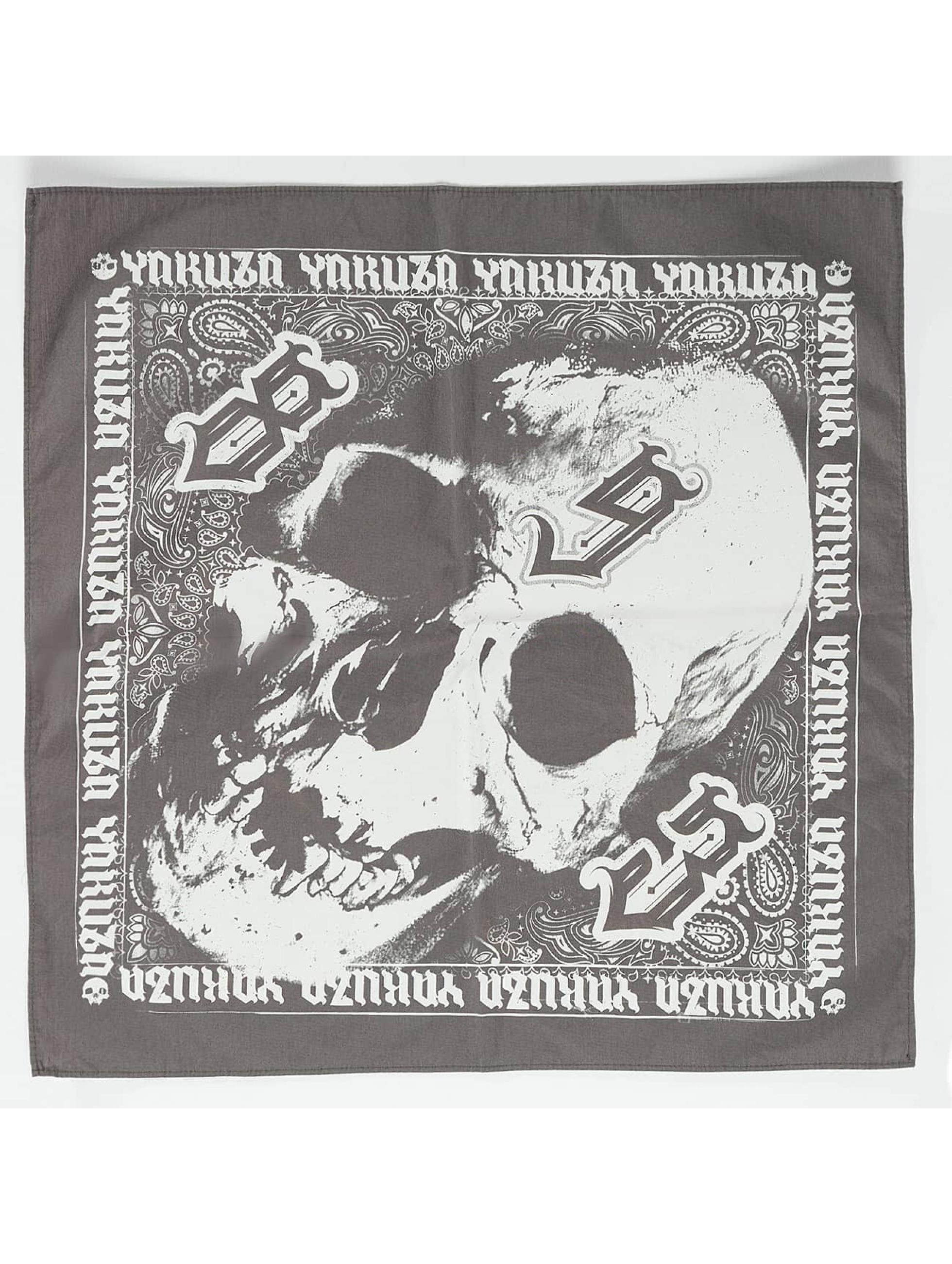 Yakuza Бандана/Дю-Рэги Skull серый