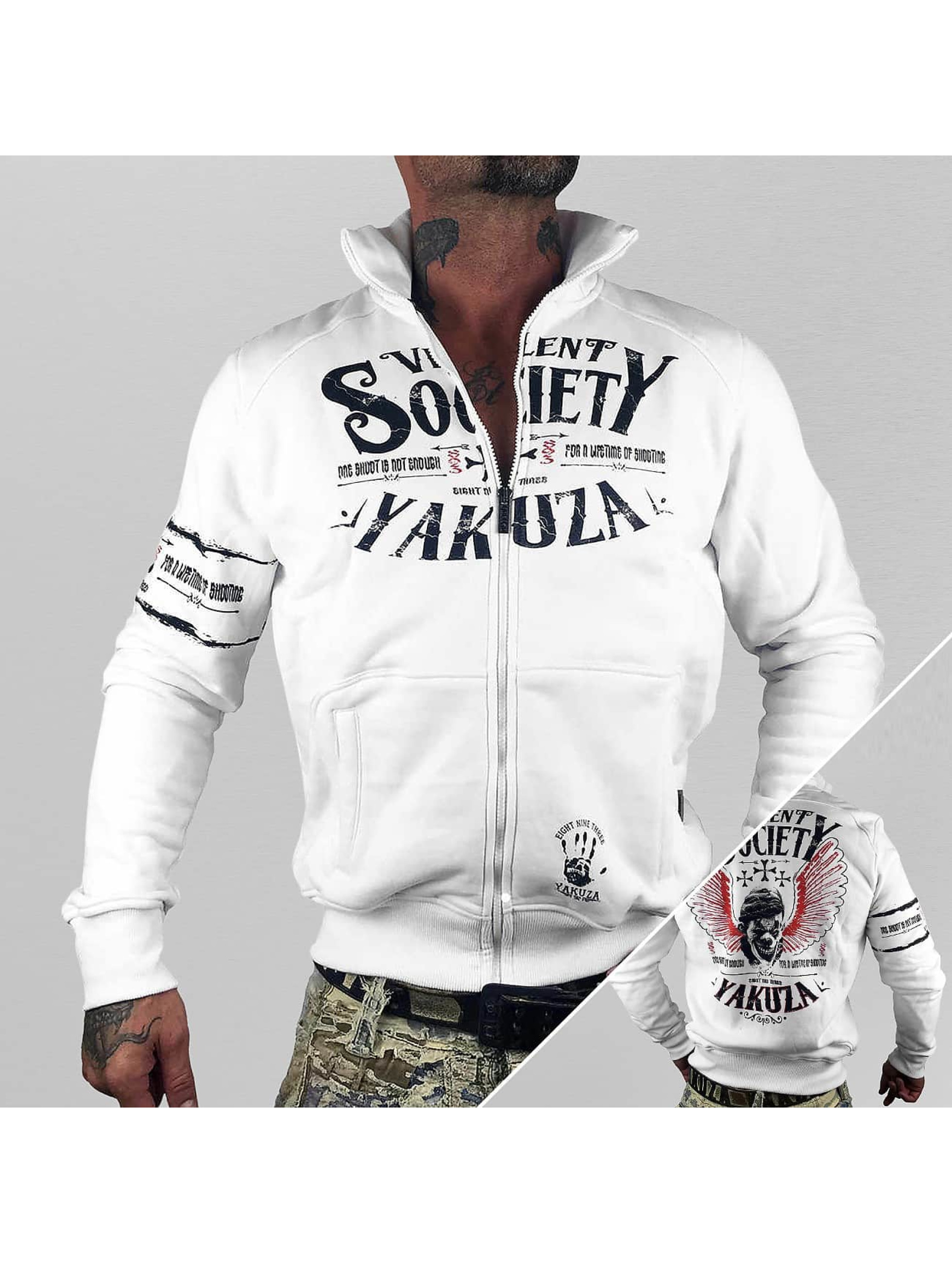 Yakuza Демисезонная куртка Violent Society белый