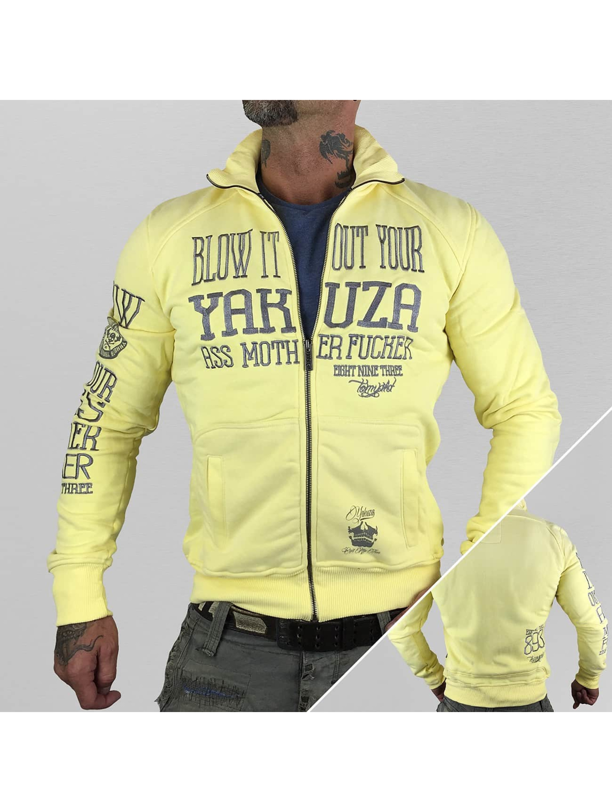 Yakuza Демисезонная куртка Blow It Out желтый