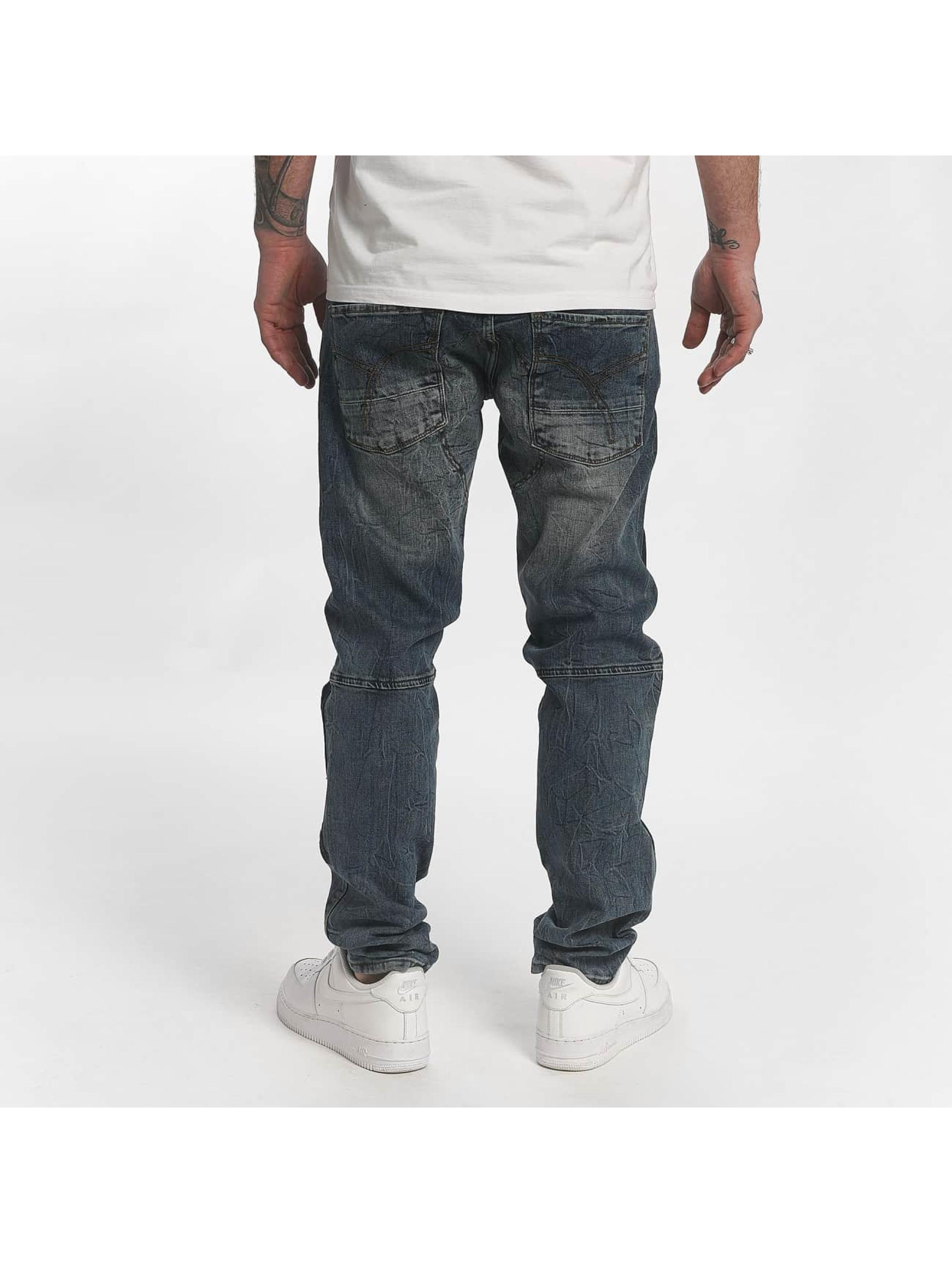 Yakuza Джинсы прямого покроя Straight Fit Jeans индиго