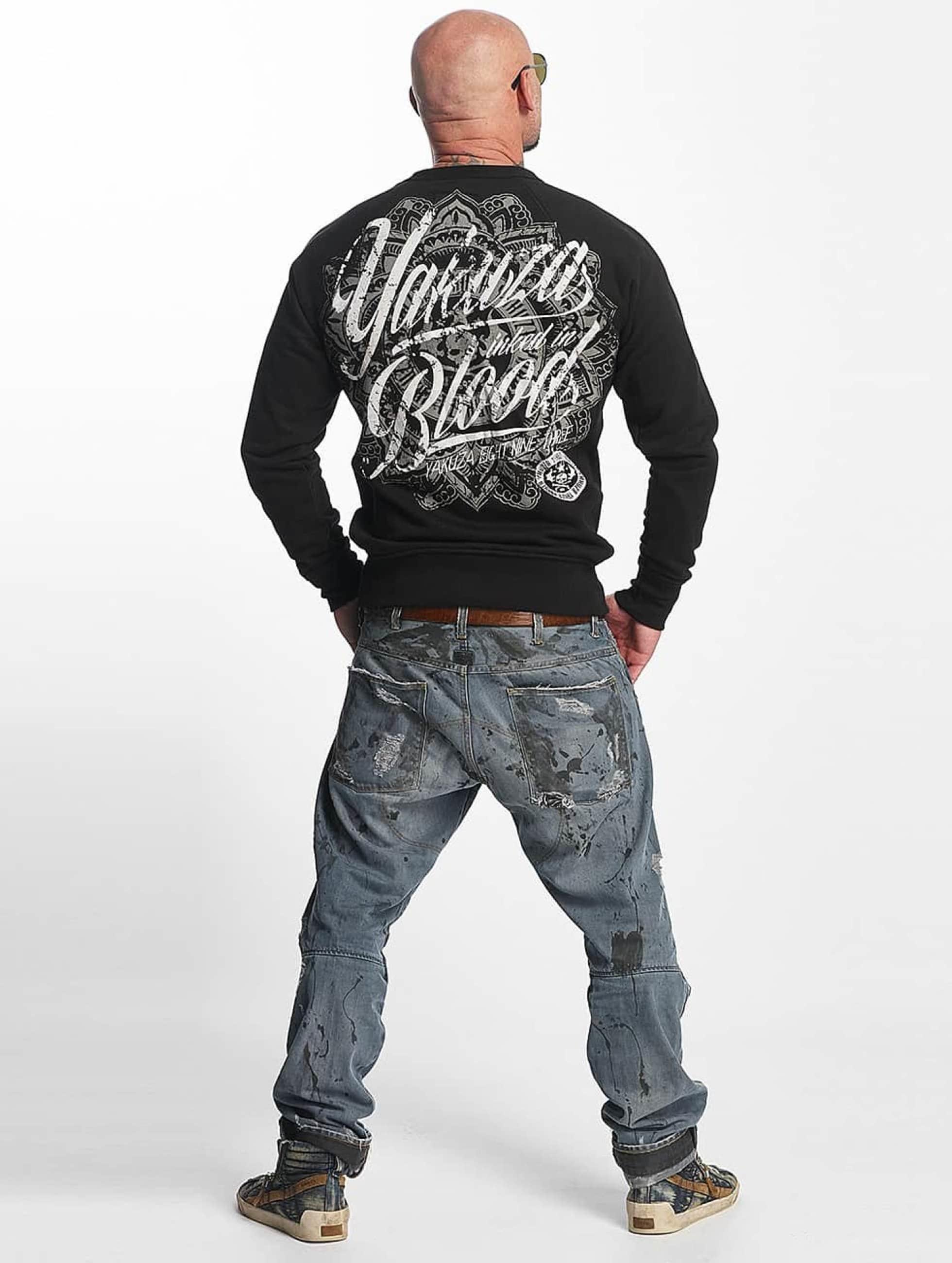 Yakuza Пуловер Inked In Blood черный
