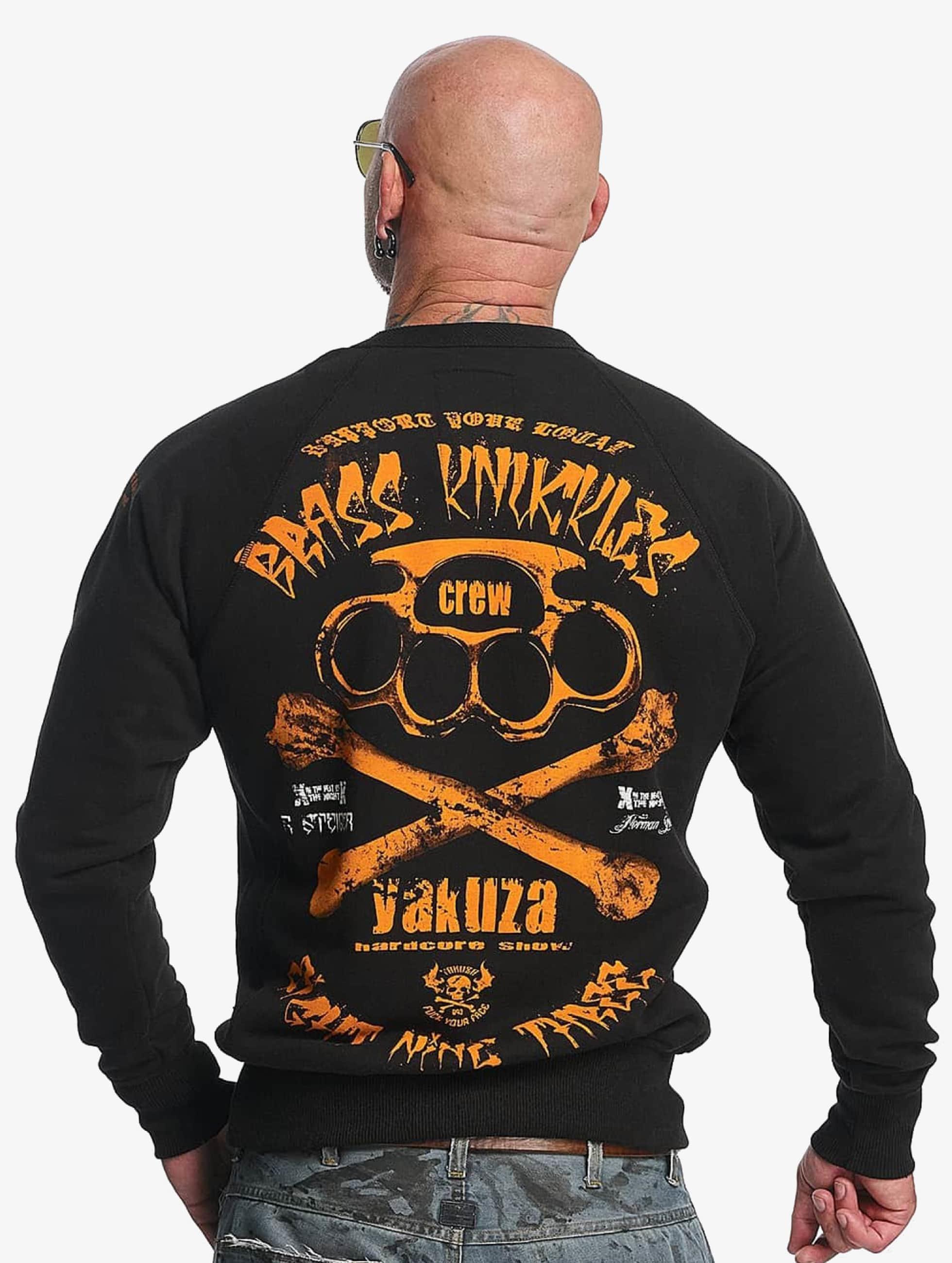 Yakuza Пуловер Brass Knuckles черный