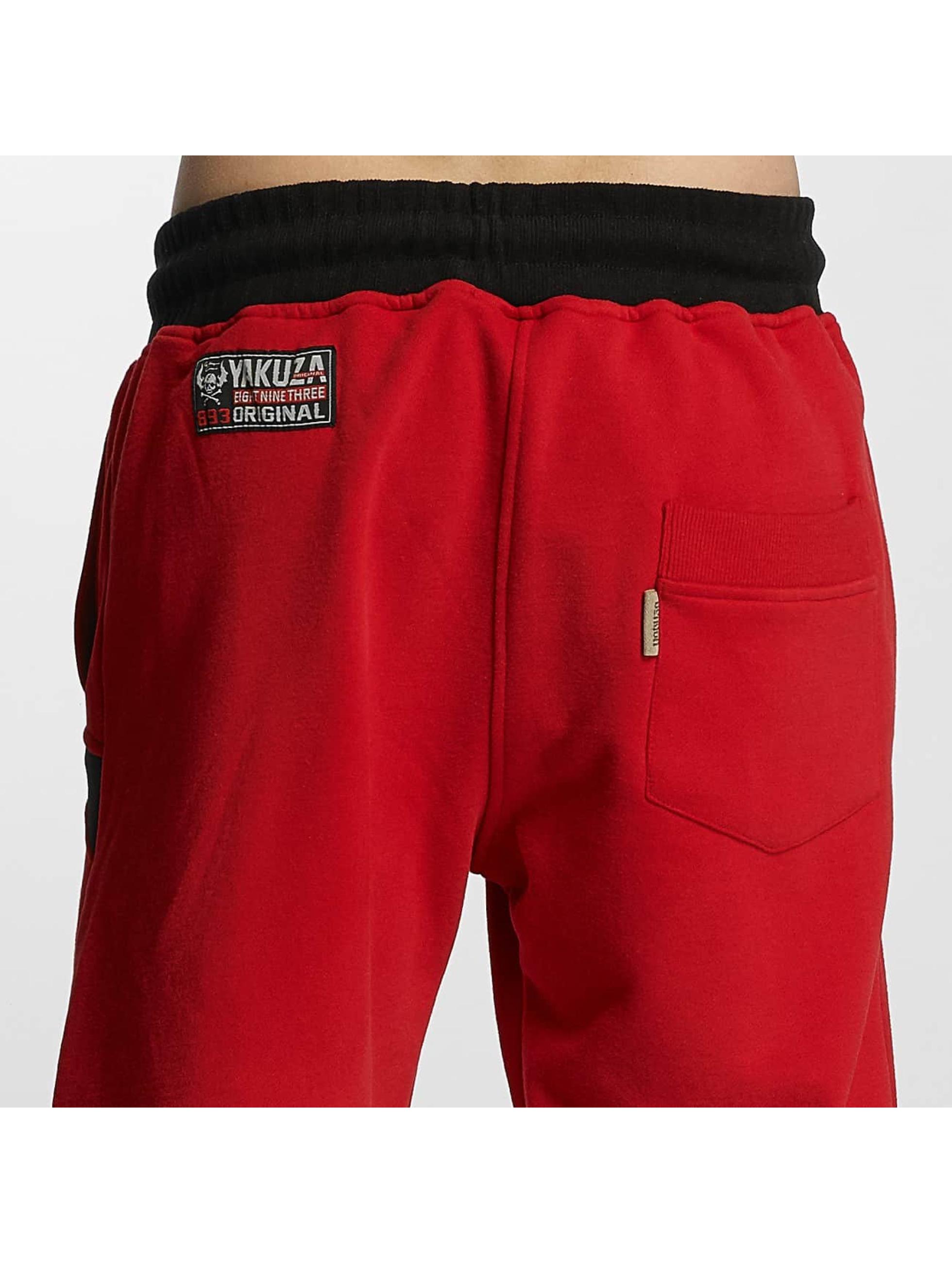 Yakuza Спортивные брюки Warrior красный