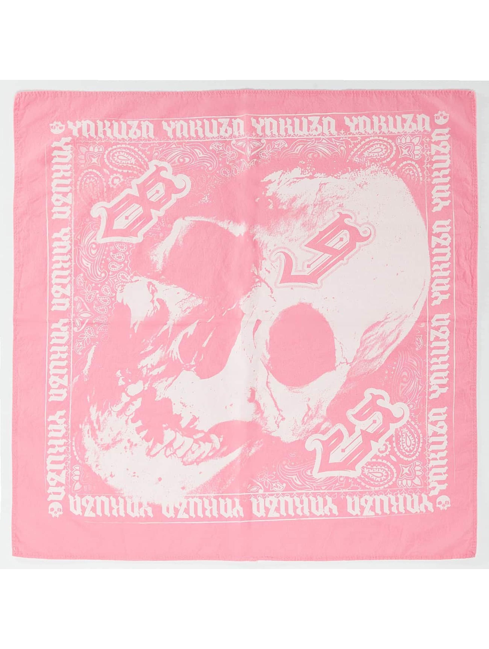Yakuza Bandana Skull fucsia