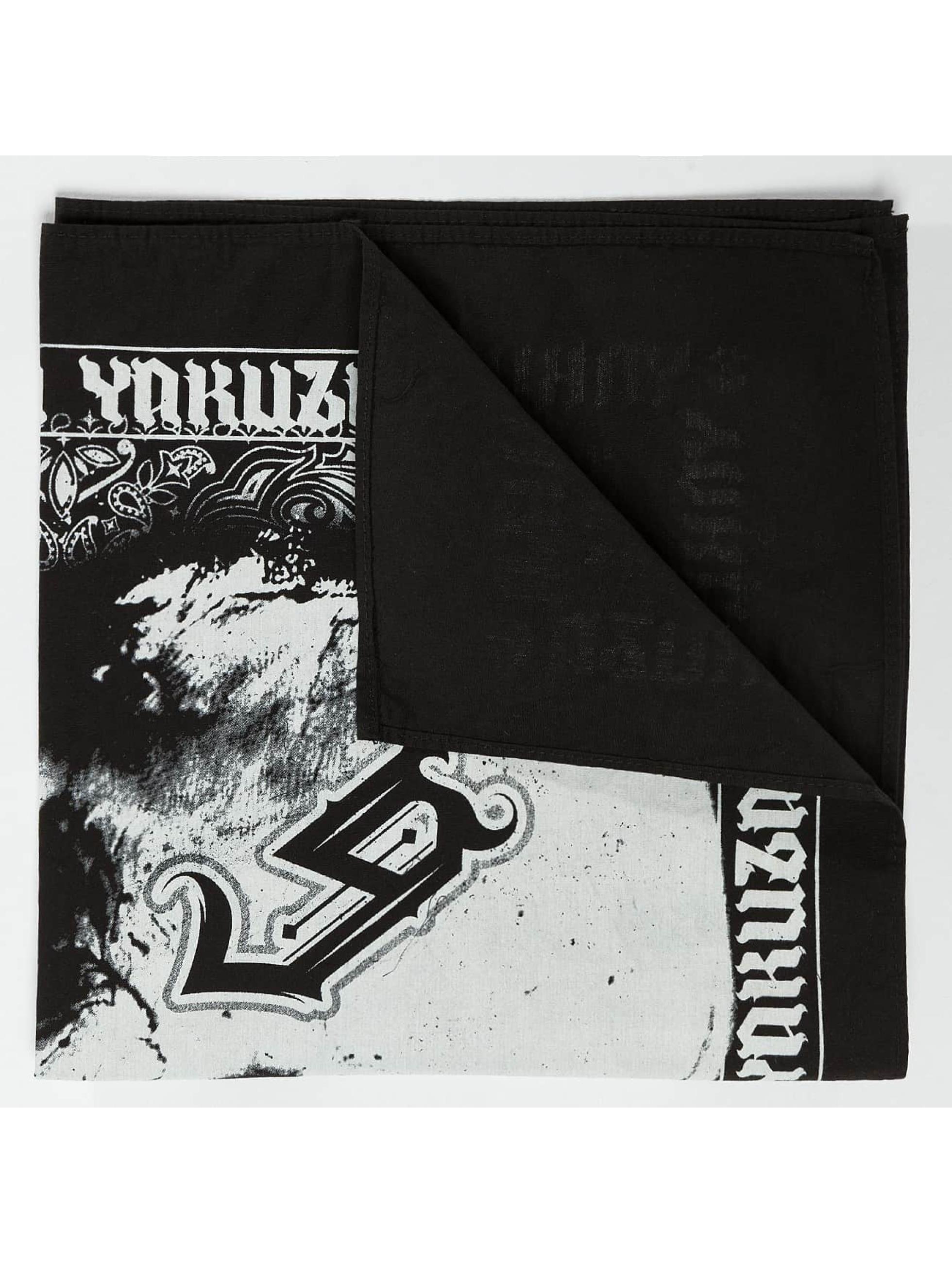 Yakuza Bandany/Durags Skull czarny
