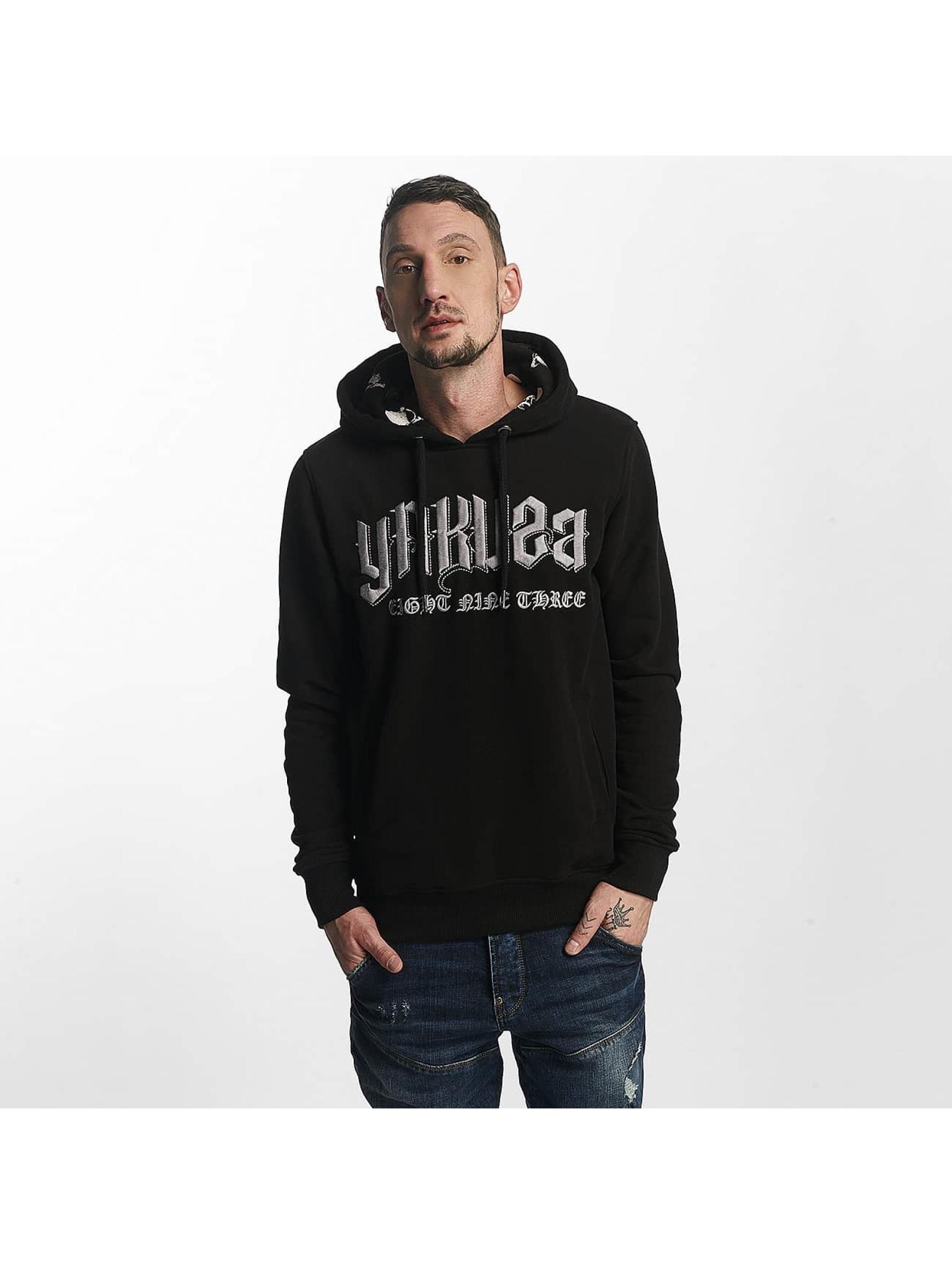 Yakuza Bluzy z kapturem Undead czarny