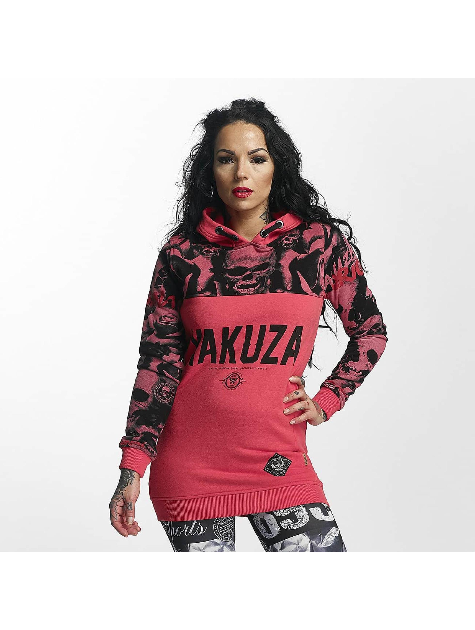 Yakuza Bluzy z kapturem Sick N Fuck Flex pink