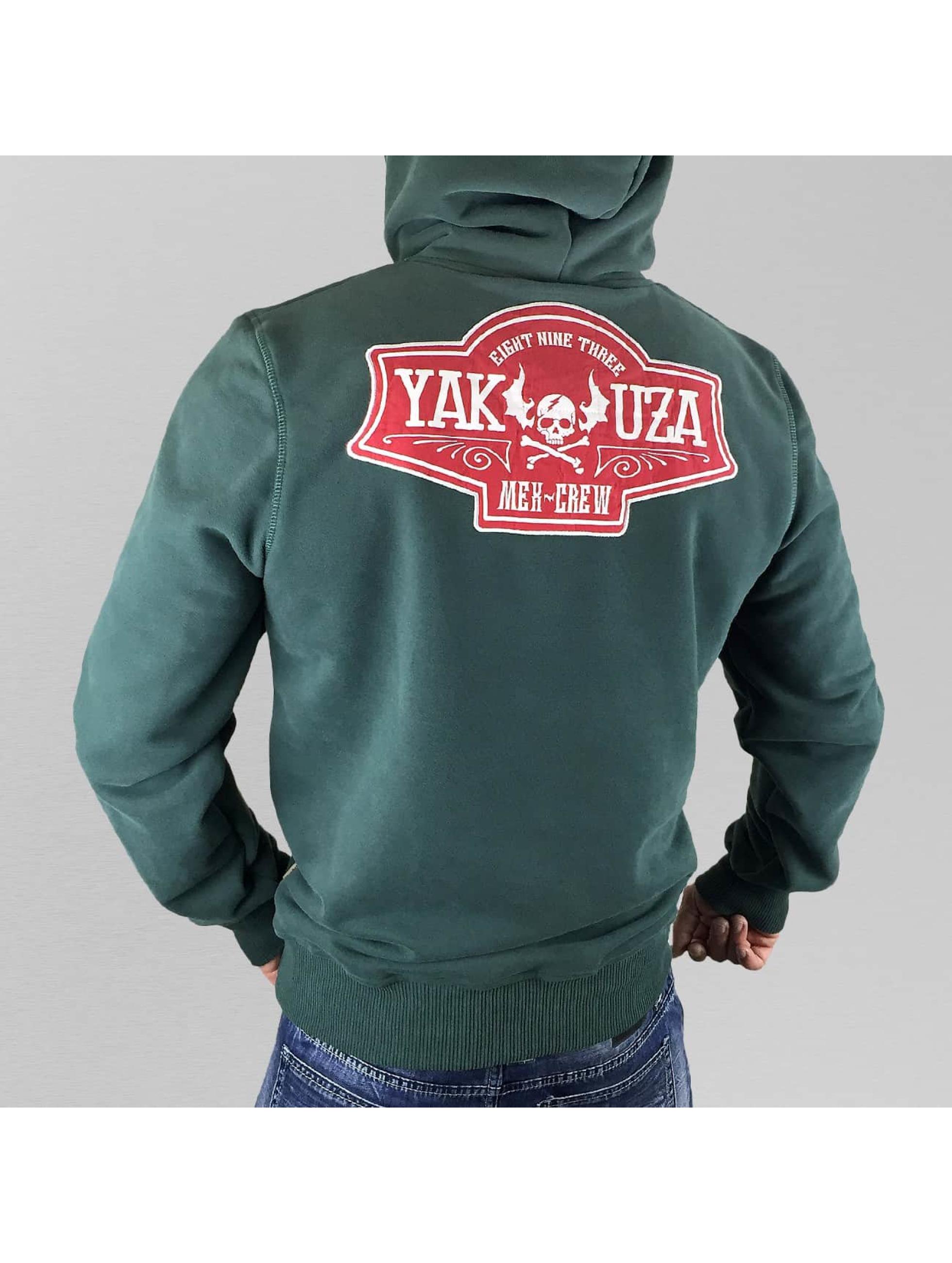 Yakuza Bluzy z kapturem Mex-Crew VO2 zielony