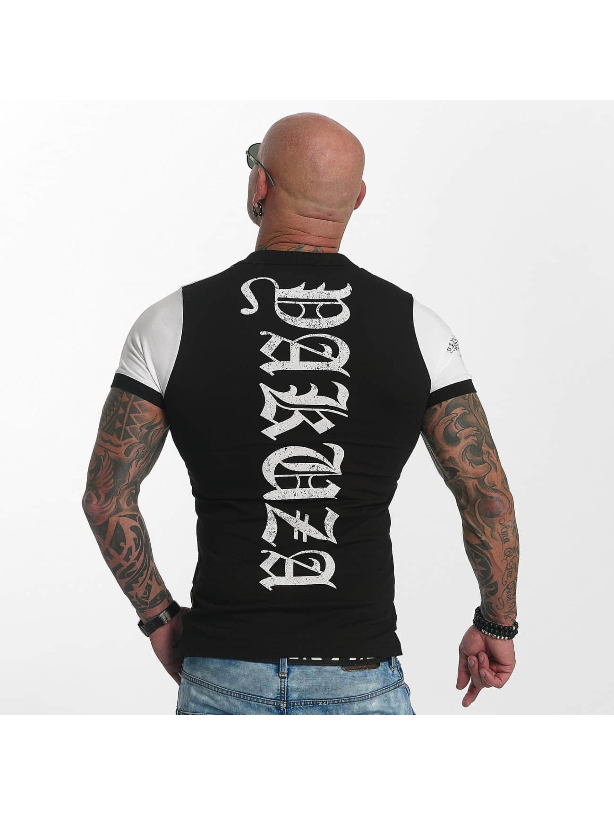 Yakuza Camiseta polo AK Two Faces negro