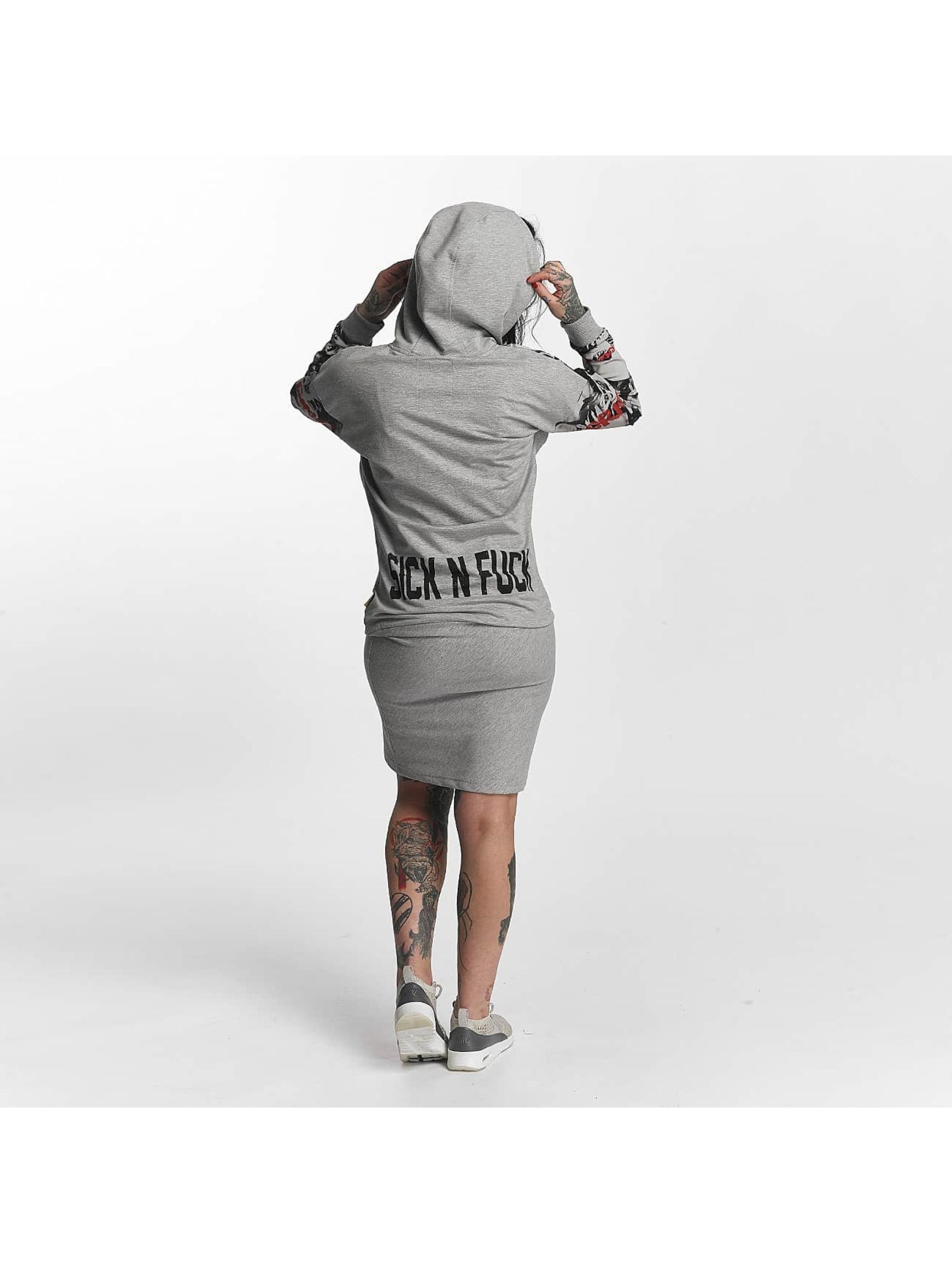 Yakuza Dress Sick N Fuck gray
