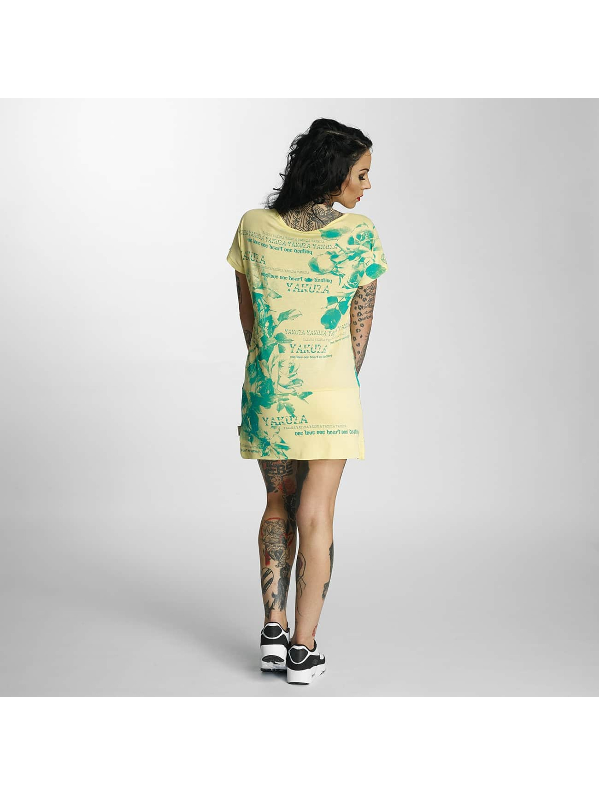 Yakuza Dress Flower yellow