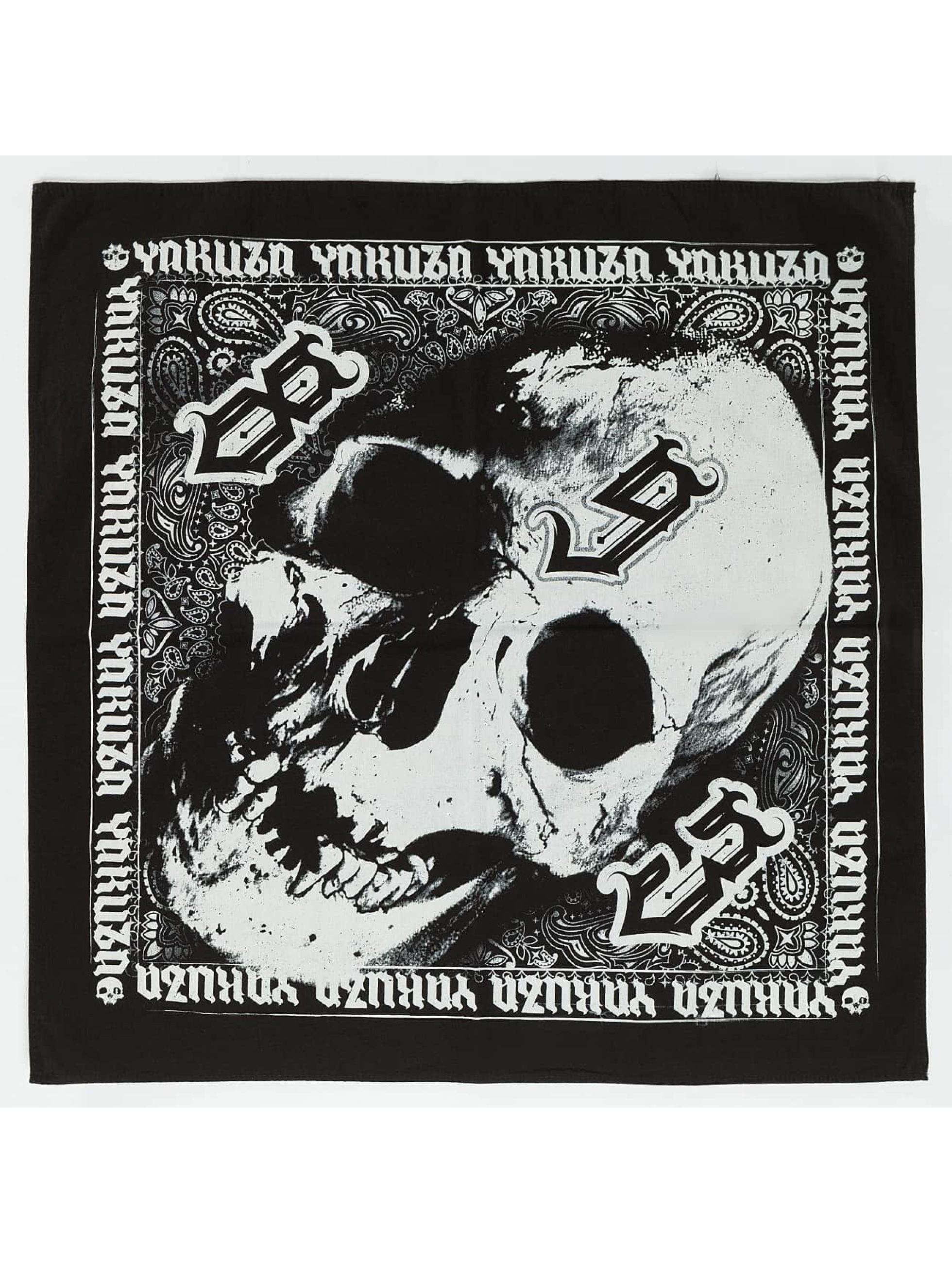 Yakuza Hodetørkler/Hodeskjerf Skull svart