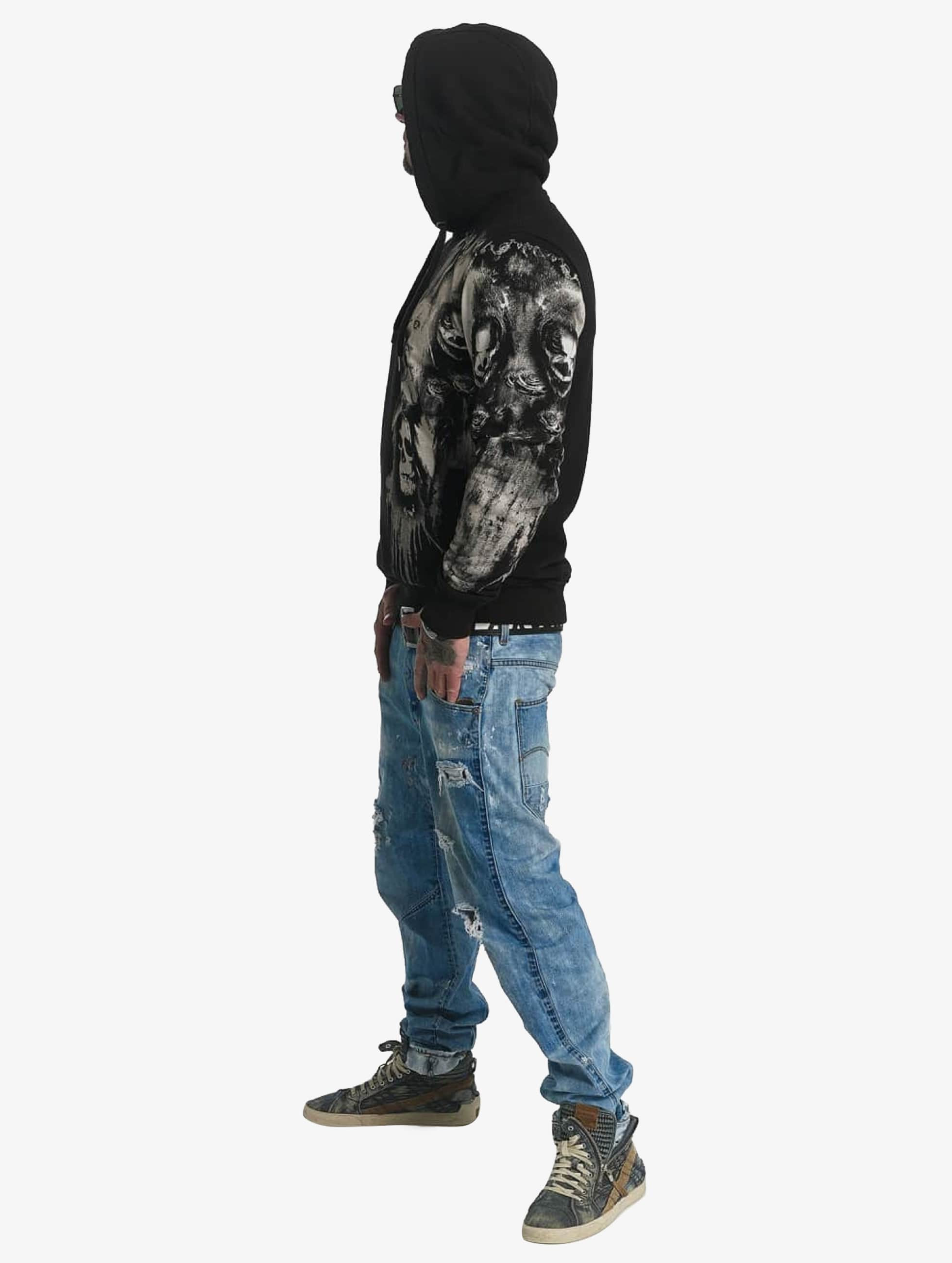 Yakuza Hoodie Waiting Death black