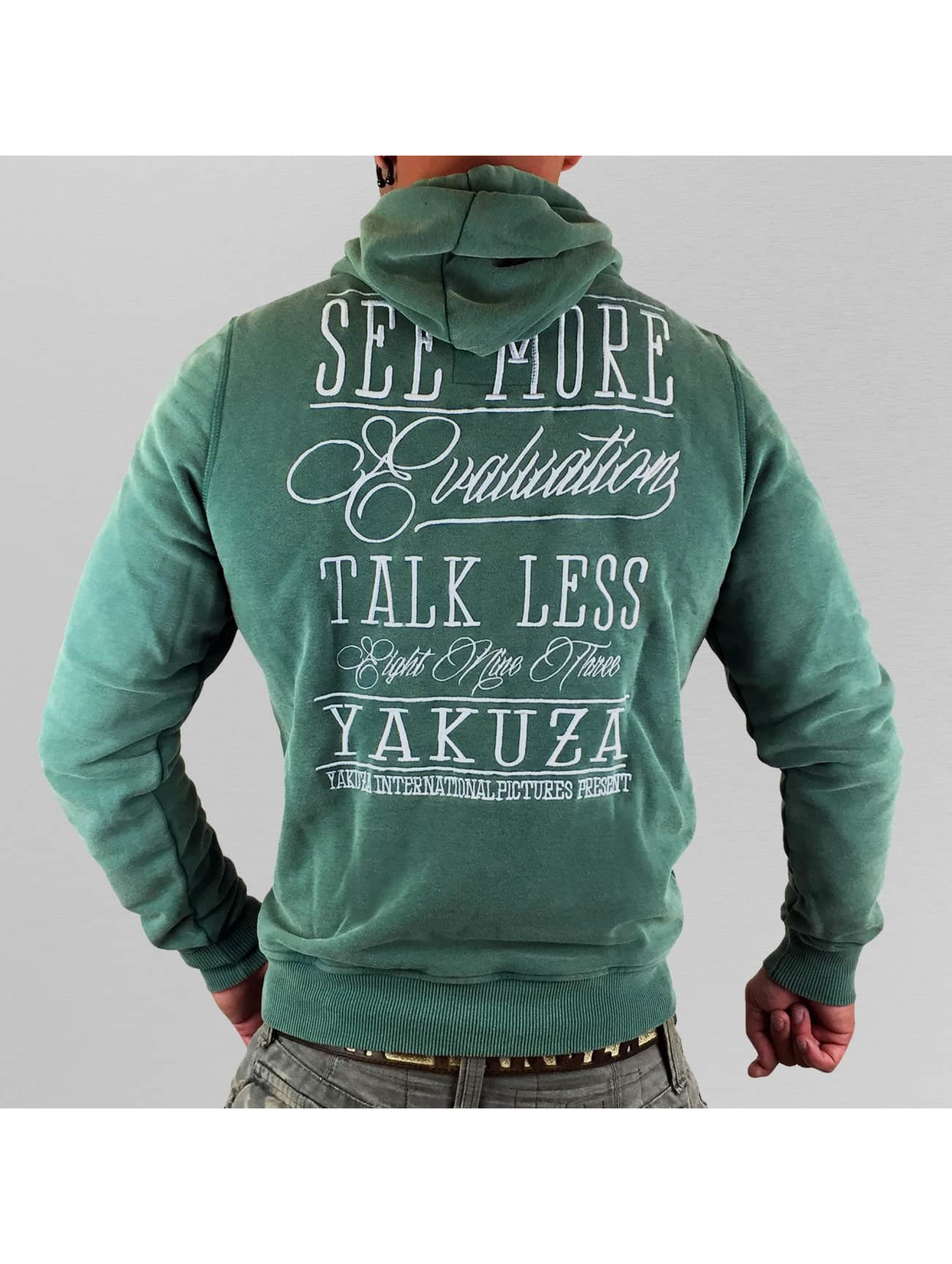 Yakuza Hoodie Evaluation green