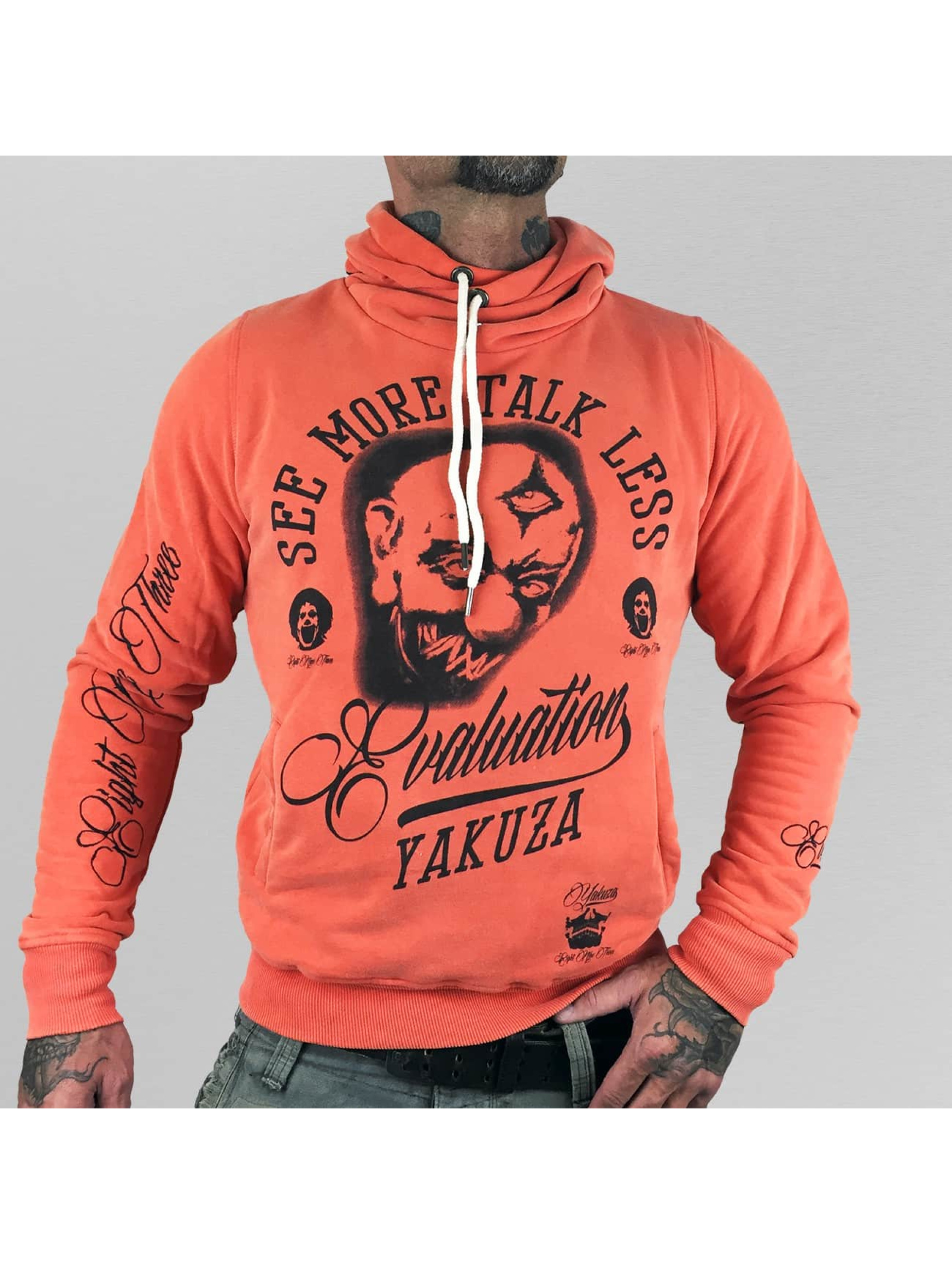 Yakuza Hoodie Evaluation orange