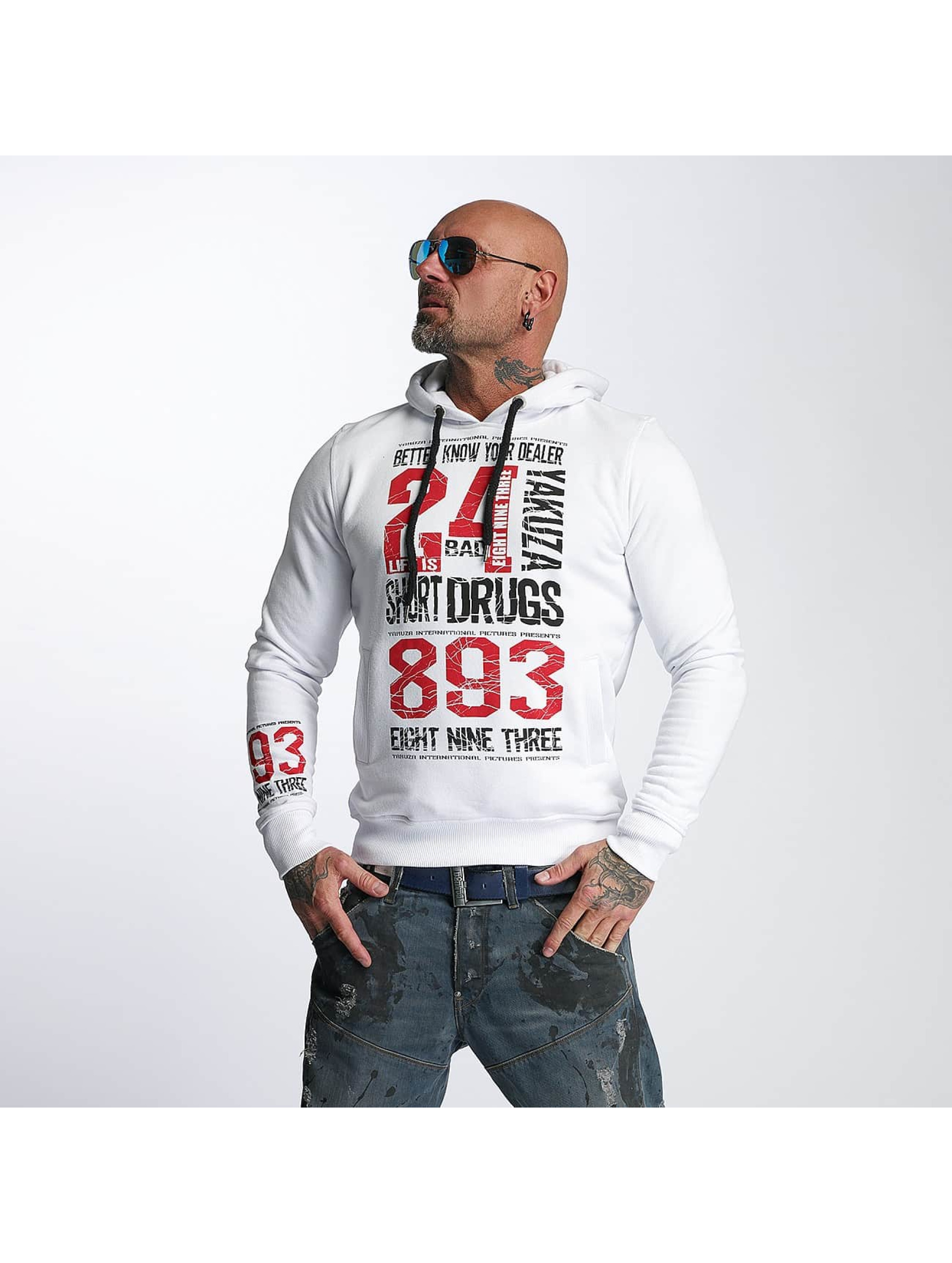 Yakuza Hoodie Know Your Dealer white