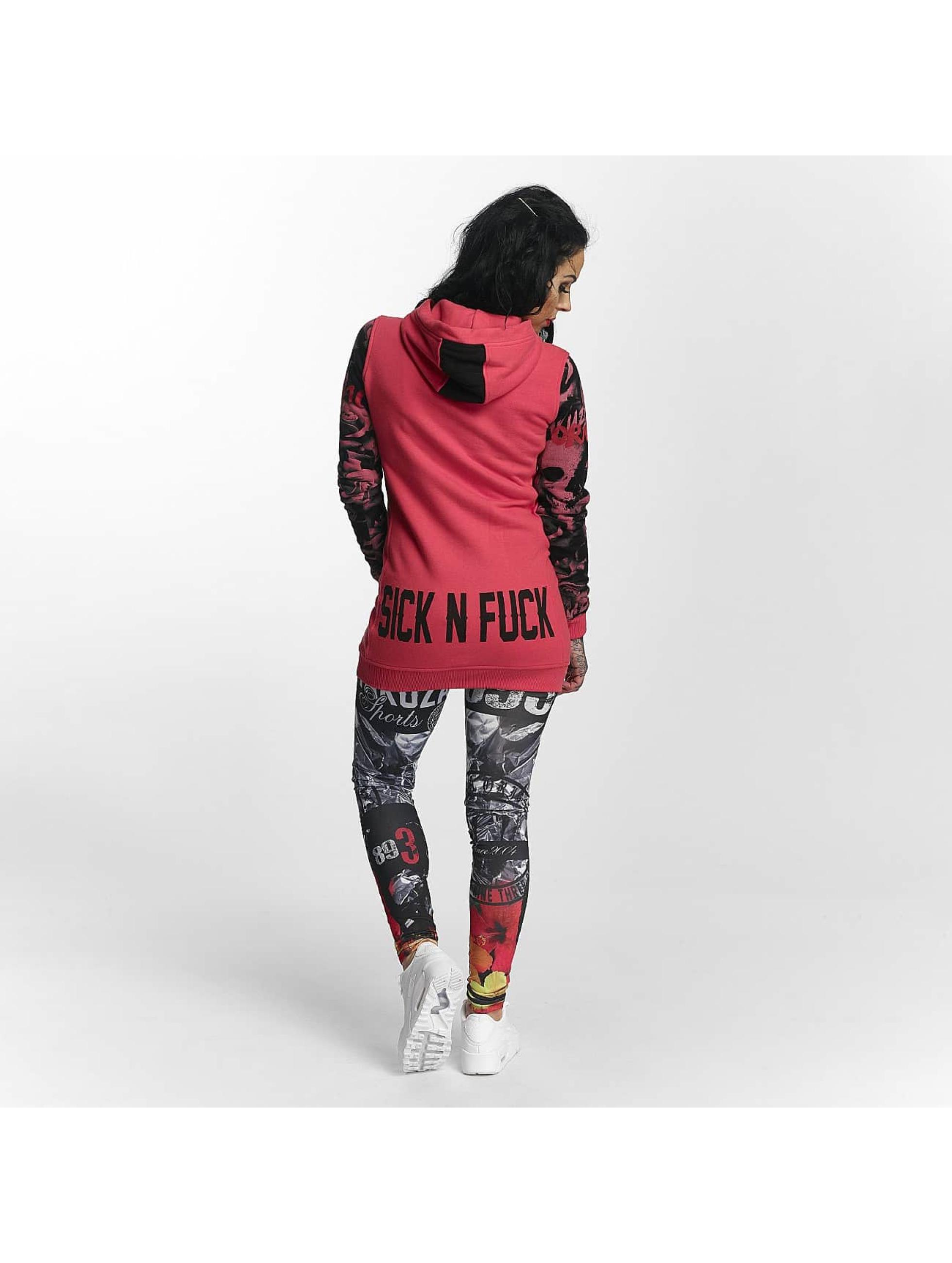 Yakuza Hoodies Sick N Fuck Flex pink