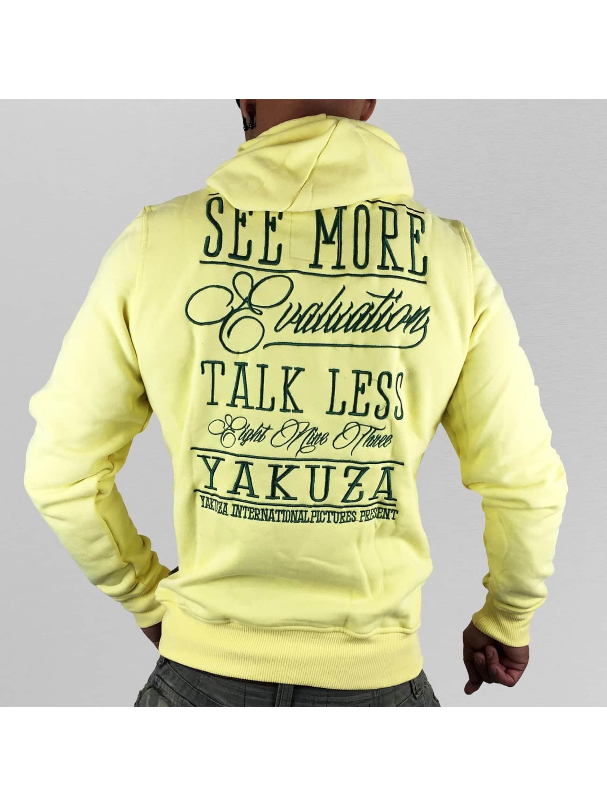 Yakuza Hoody Evaluation geel