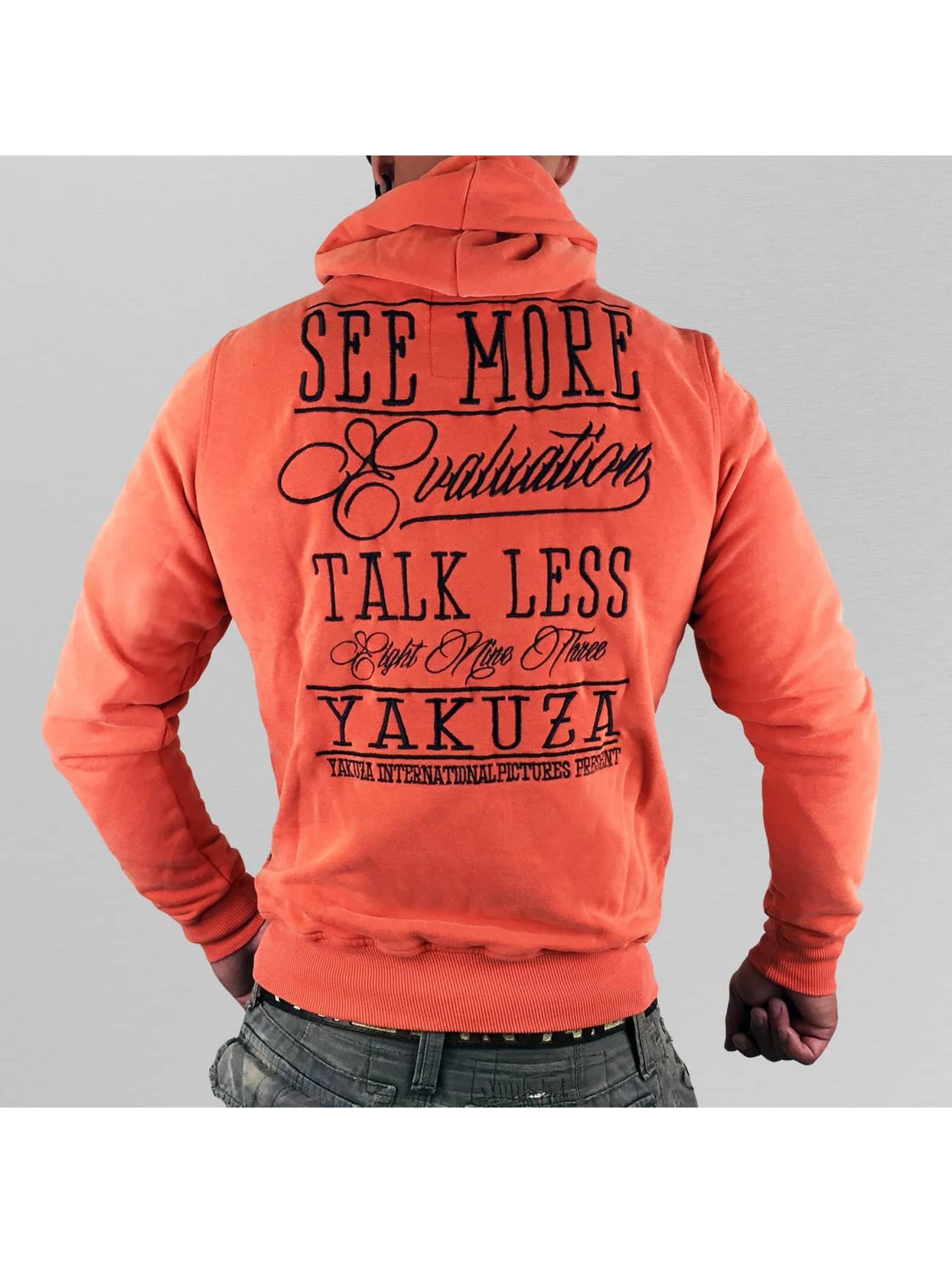 Yakuza Hoody Evaluation oranje