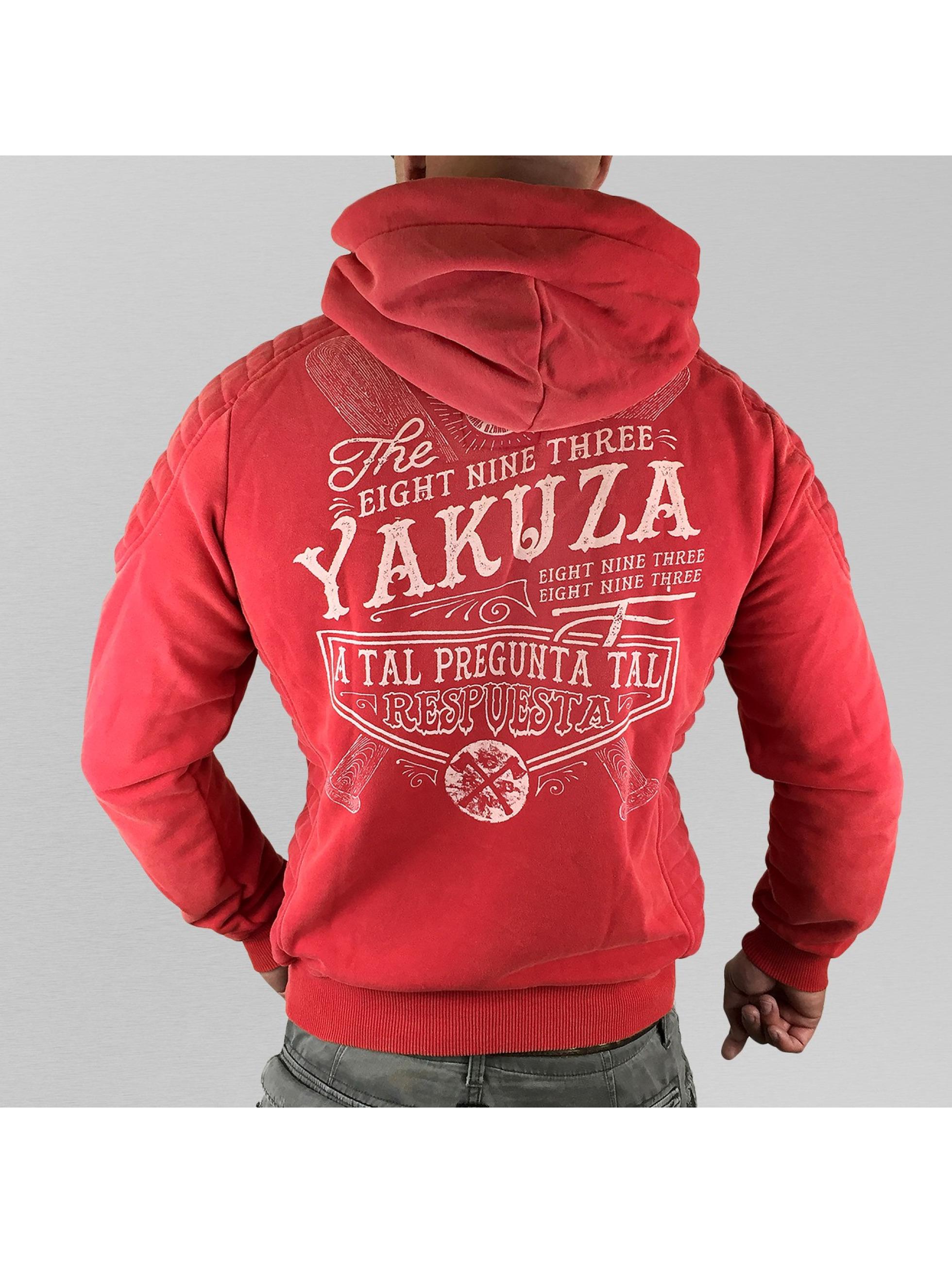 Yakuza Hoody Respuesta rood
