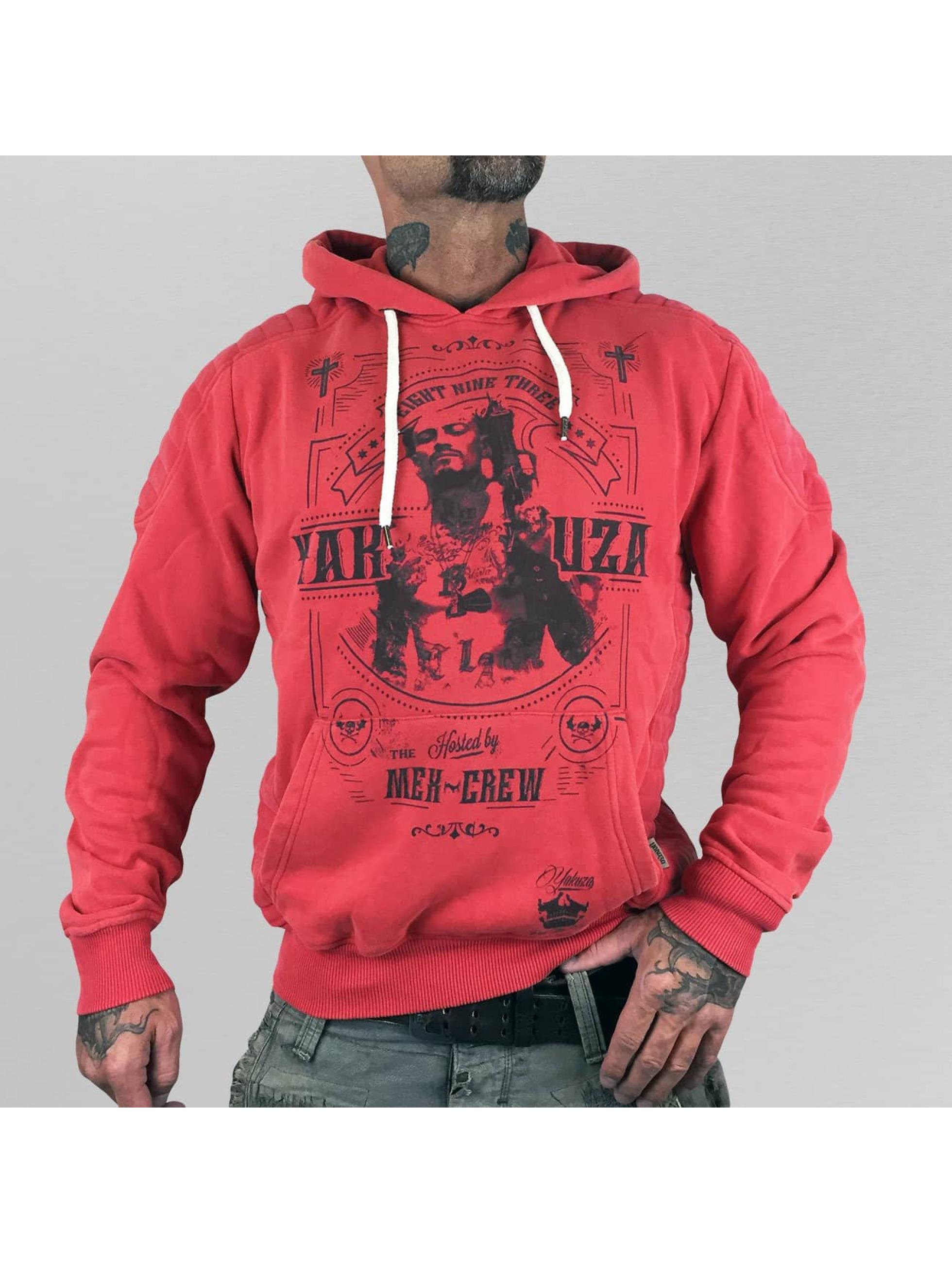 Yakuza Hoody Mex-Crew rood